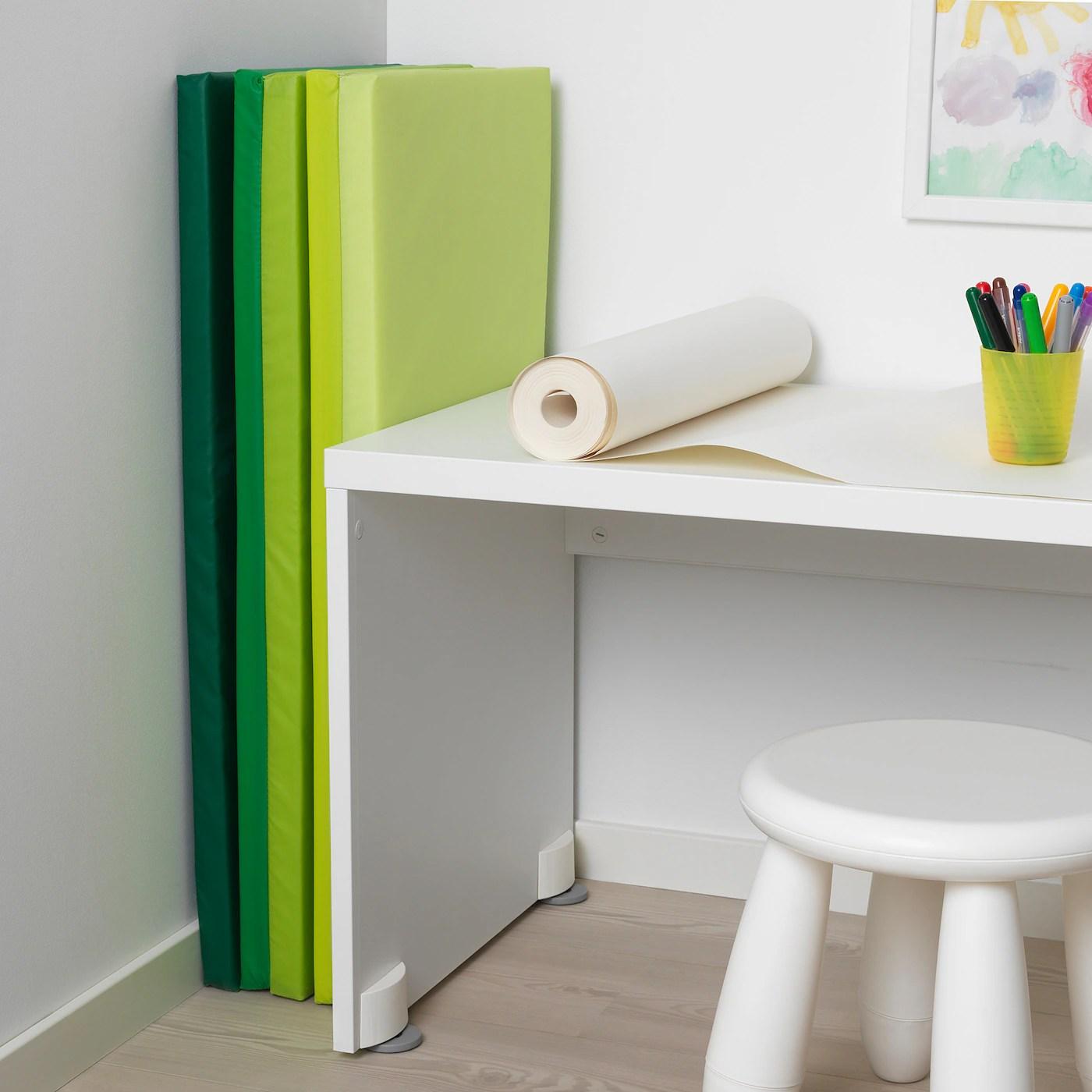 plufsig tapis de gymnastique pliant vert 78x185 cm