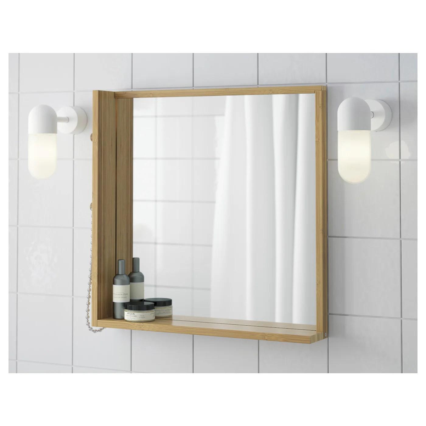 Ragrund Miroir Bambou 53x50 Cm Ikea