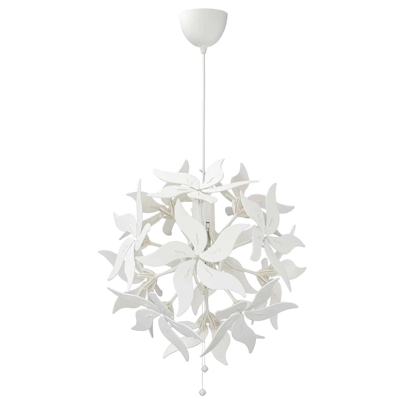 ramsele suspension fleur blanc 43 cm
