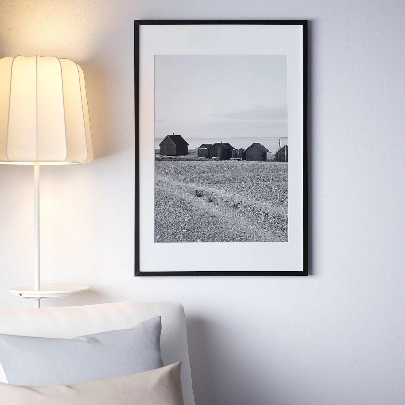 Ribba Cadre Noir 61x91 Cm Ikea