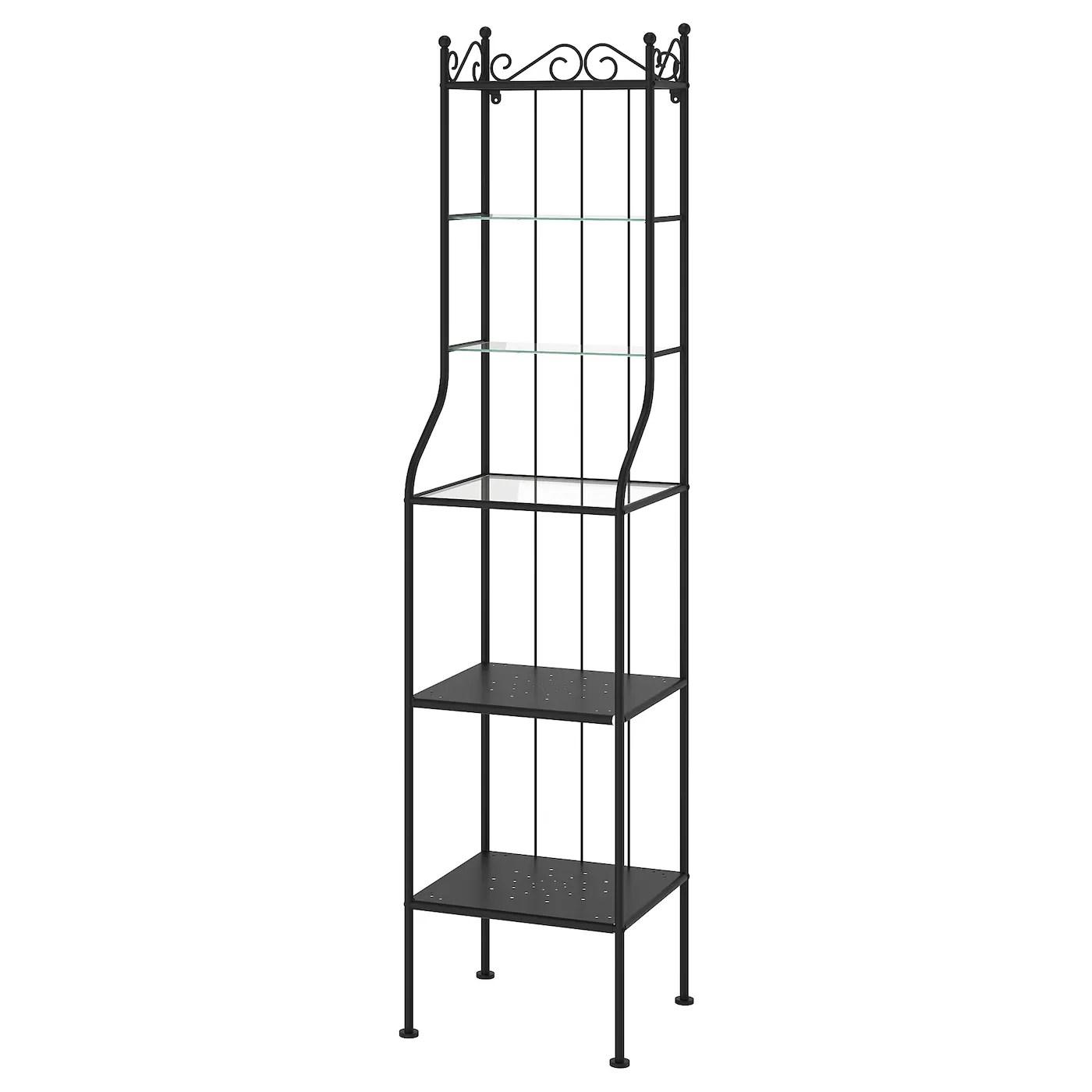 Ronnskar Etagere Noir 42x176 Cm Ikea