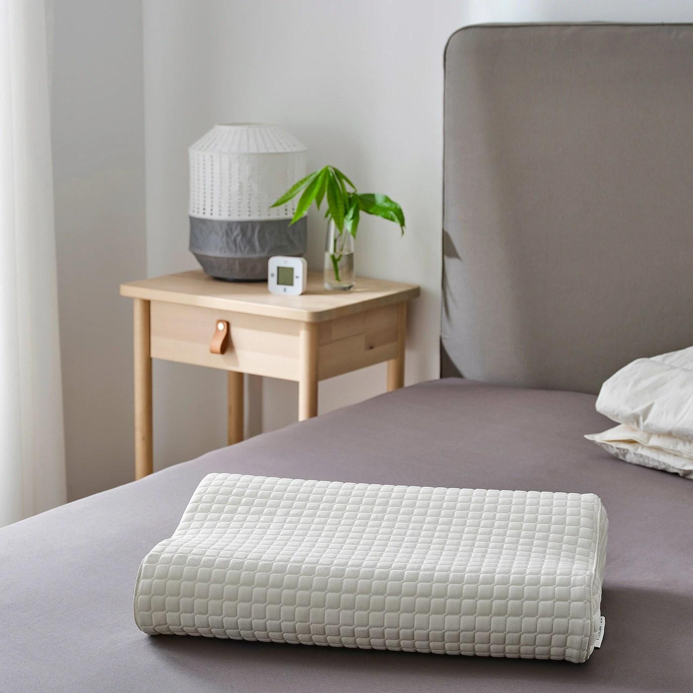 Rosenskarm Oreiller Ergonom Couchage Cote Dos 33x50 Cm Ikea