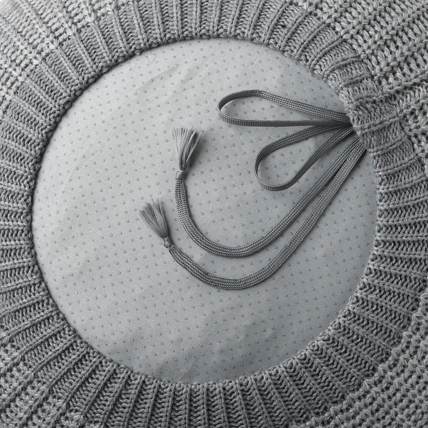Sandared Pouf Gris Ikea