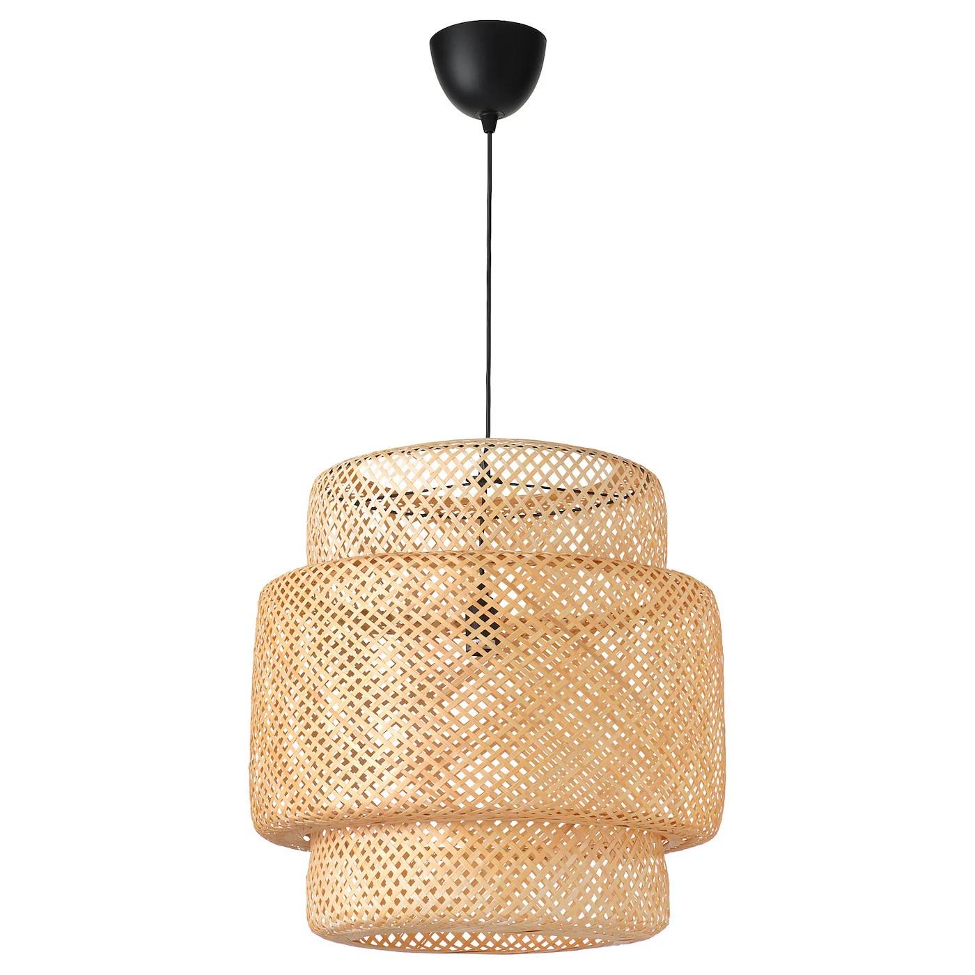 Sinnerlig Suspension Bambou Materiau Durable Ikea