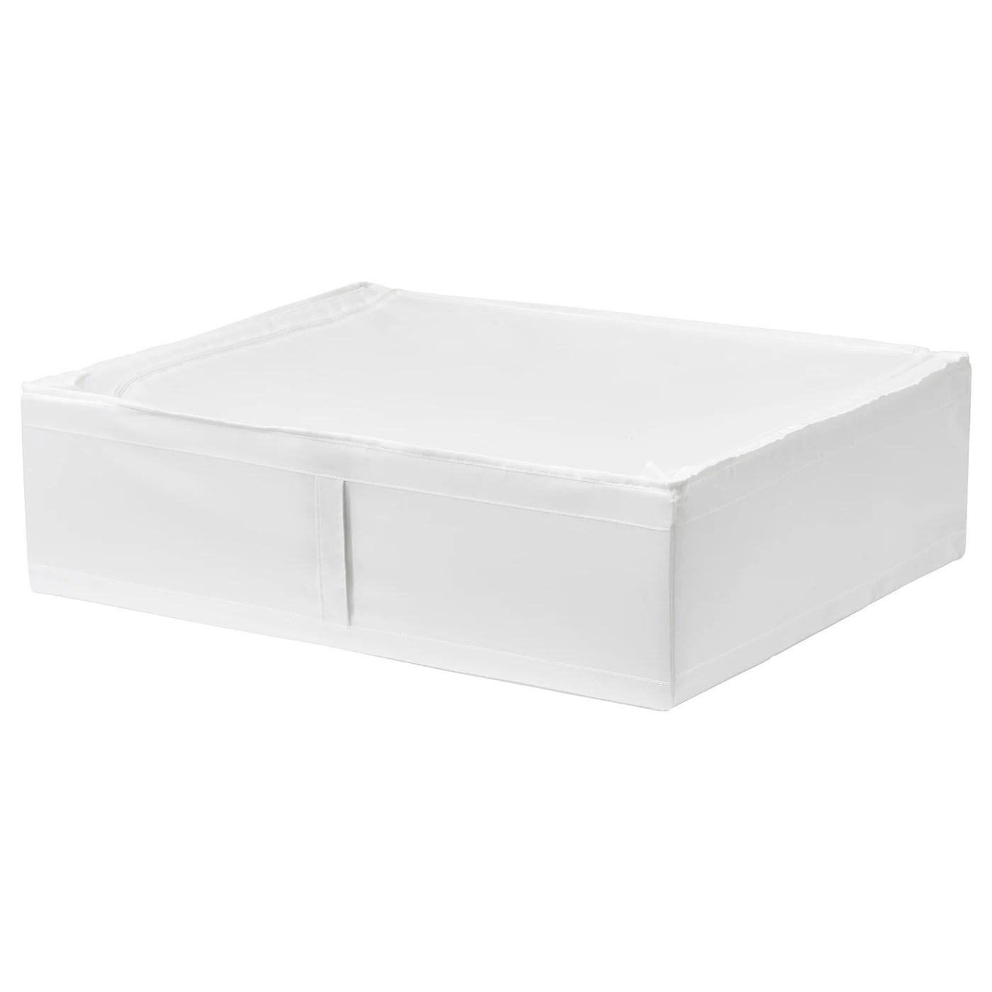 Skubb Sac De Rangement Blanc 69x55x19 Cm Materiau Durable Ikea