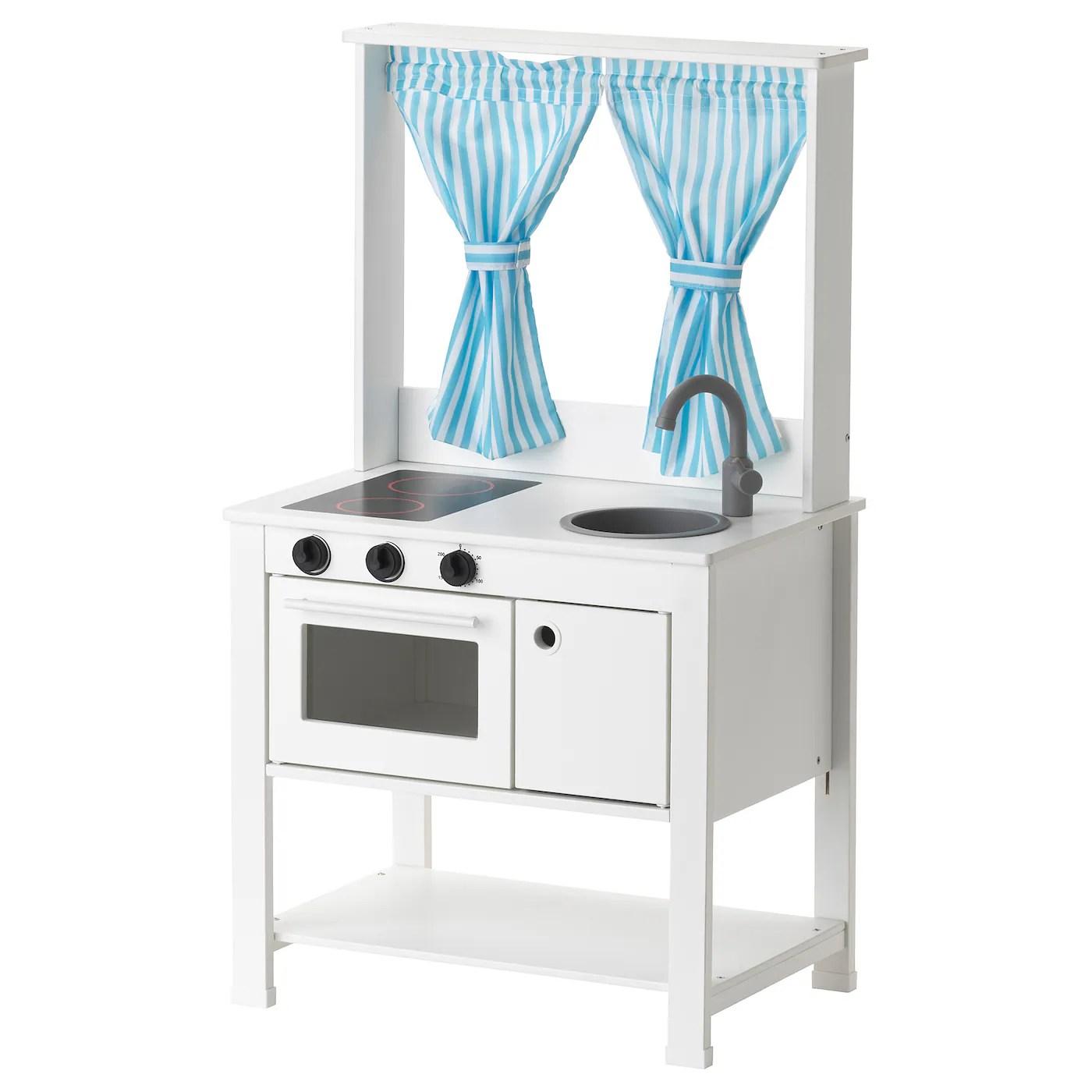 spisig mini cuisine avec rideaux 55x37x98 cm