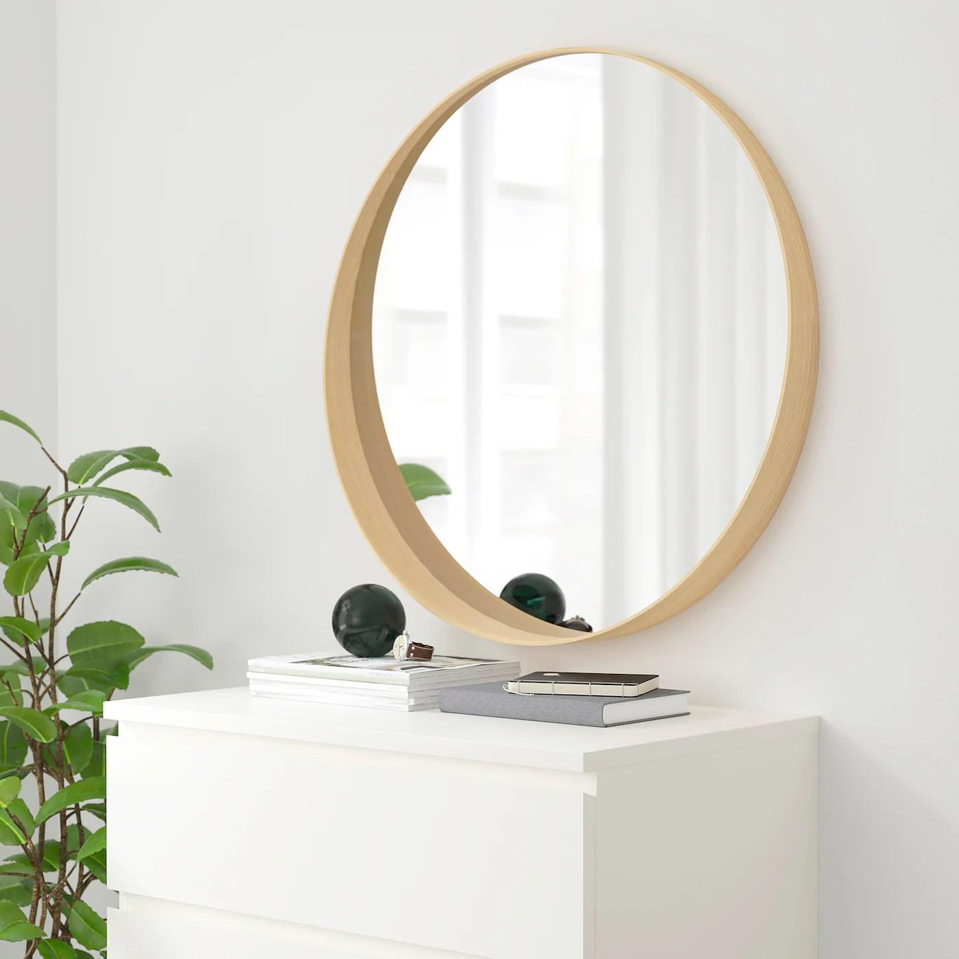 Stockholm Miroir Plaque Frene 80 Cm Ikea