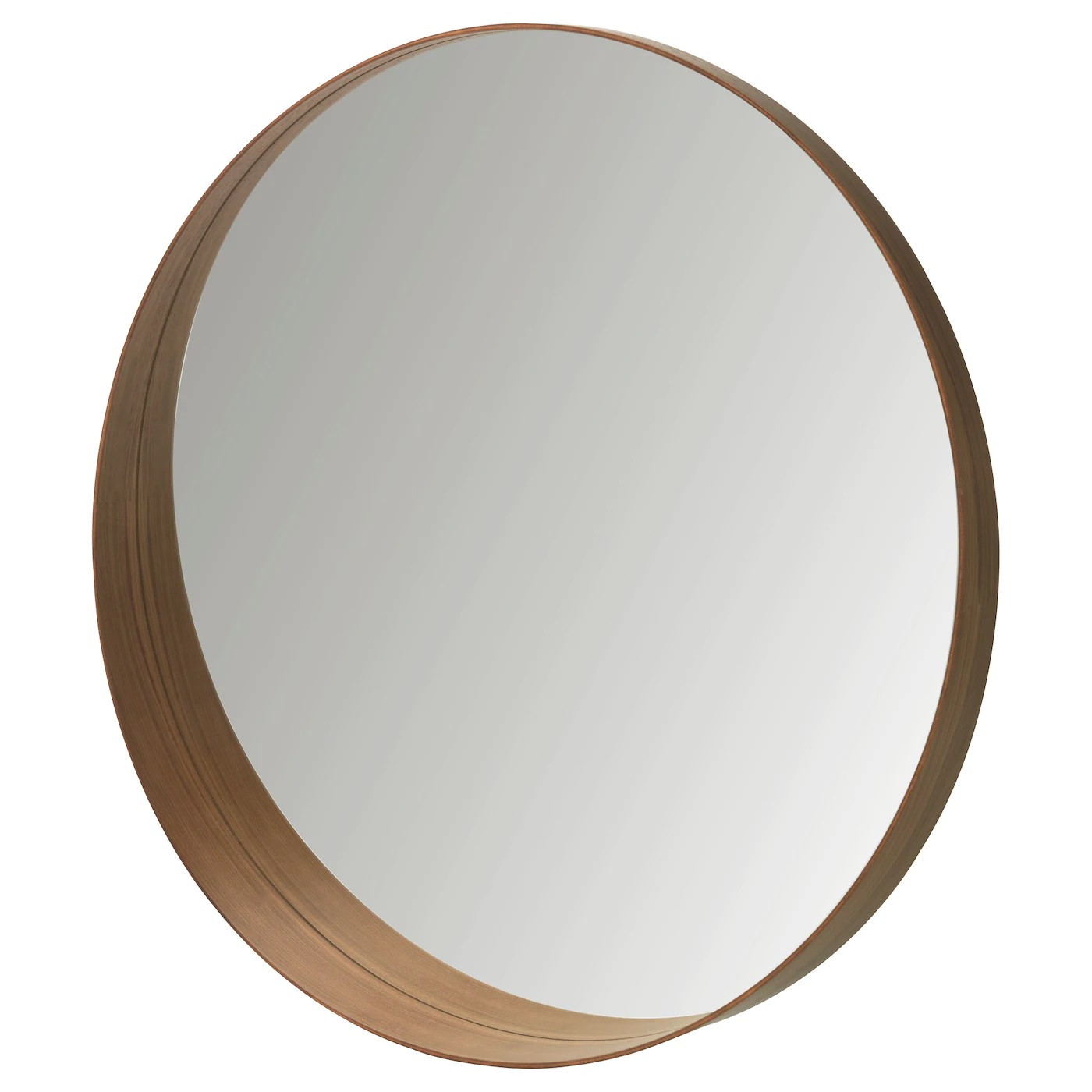 Stockholm Miroir Plaque Noyer 80 Cm Ikea
