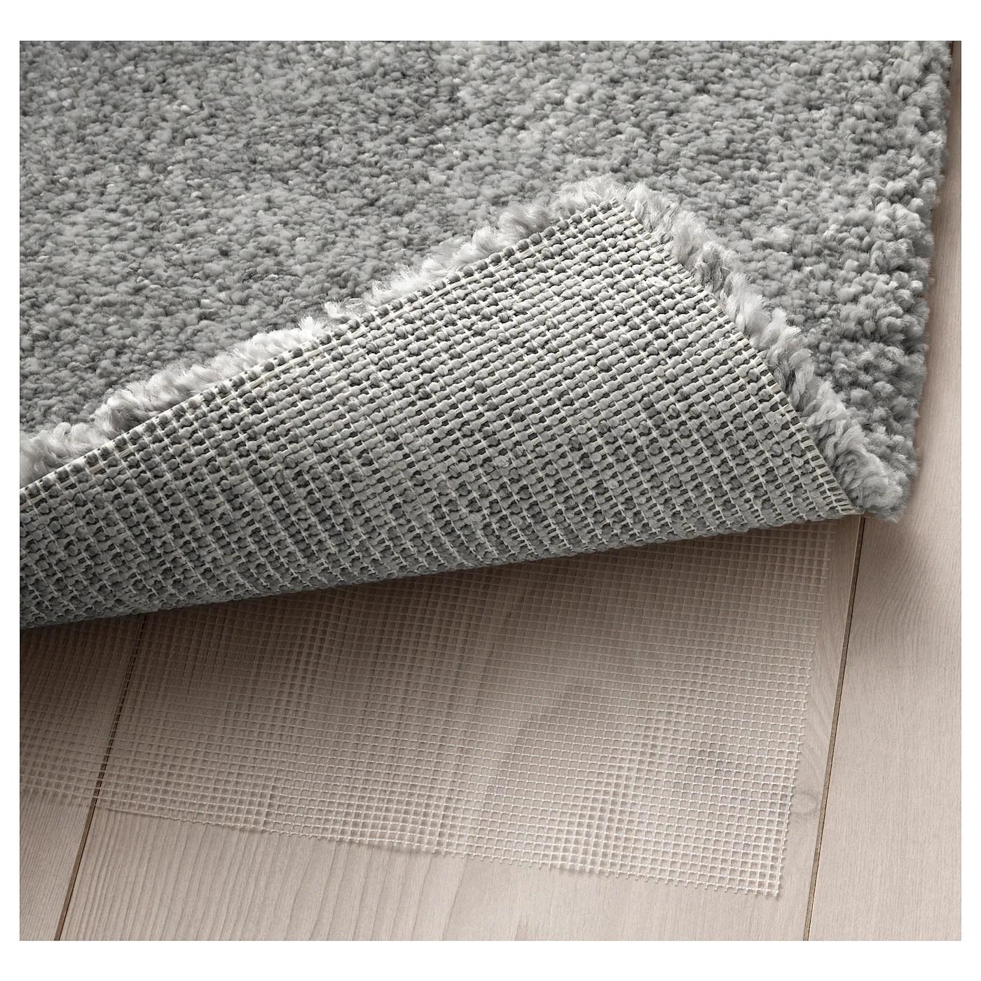 stoense tapis poils ras gris moyen 200x300 cm