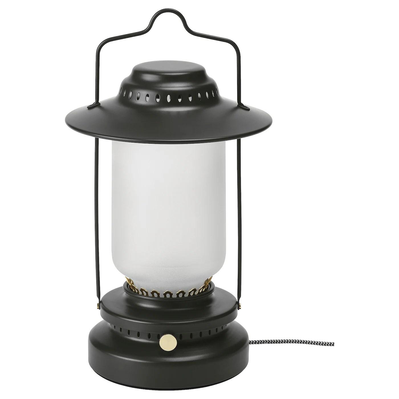Storhaga Lampe De Table De Jardin A Led Intensite Reglable Noir 35 Cm Ikea Ikea