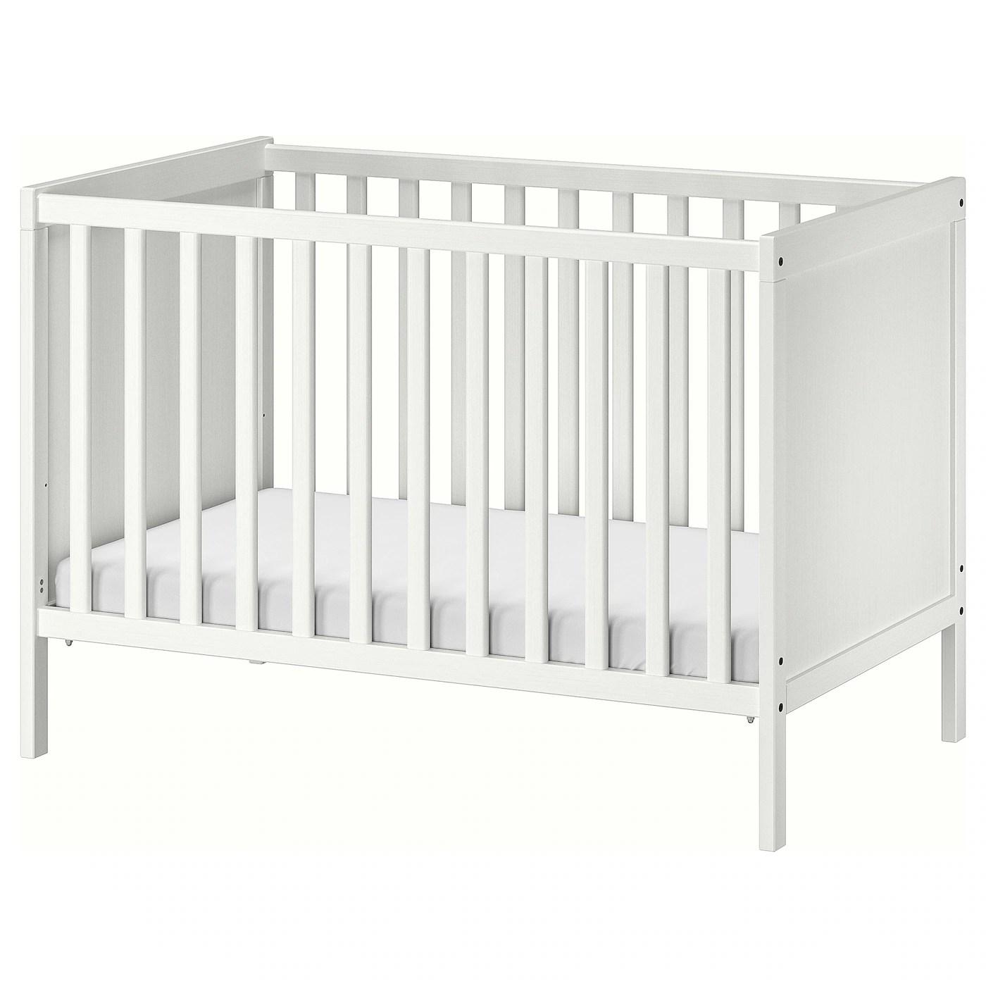 Sundvik Lit Bebe Blanc 60x120 Cm Materiau Durable Ikea