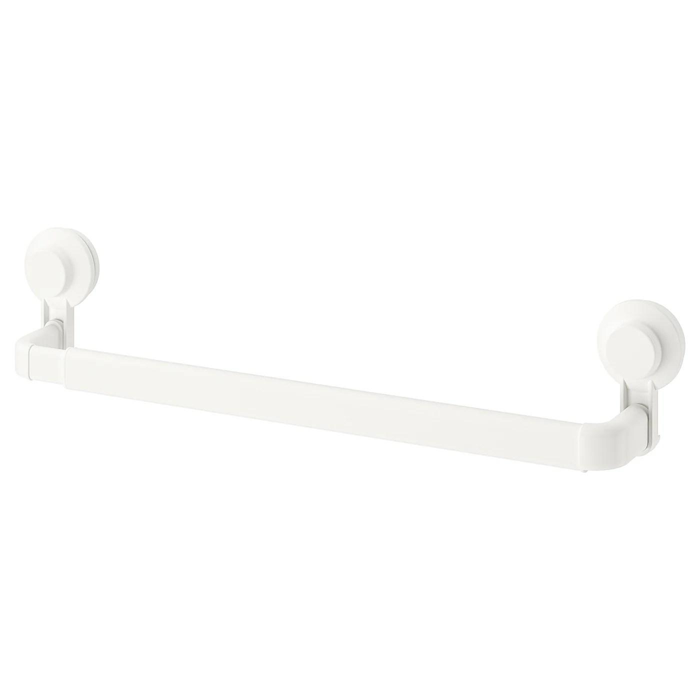 Tisken Porte Serviette A Ventouse Blanc Ikea