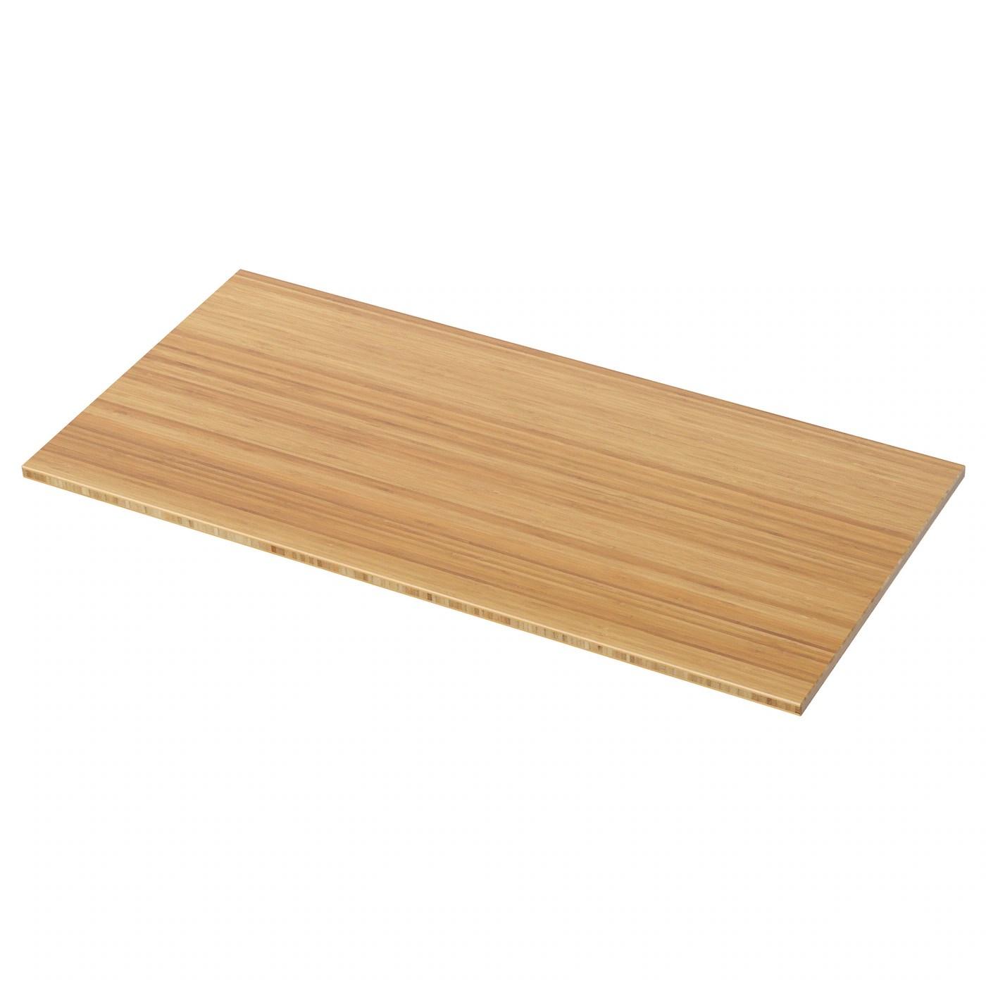 Tolken Plateau Bambou 102x49 Cm Materiau Durable Ikea