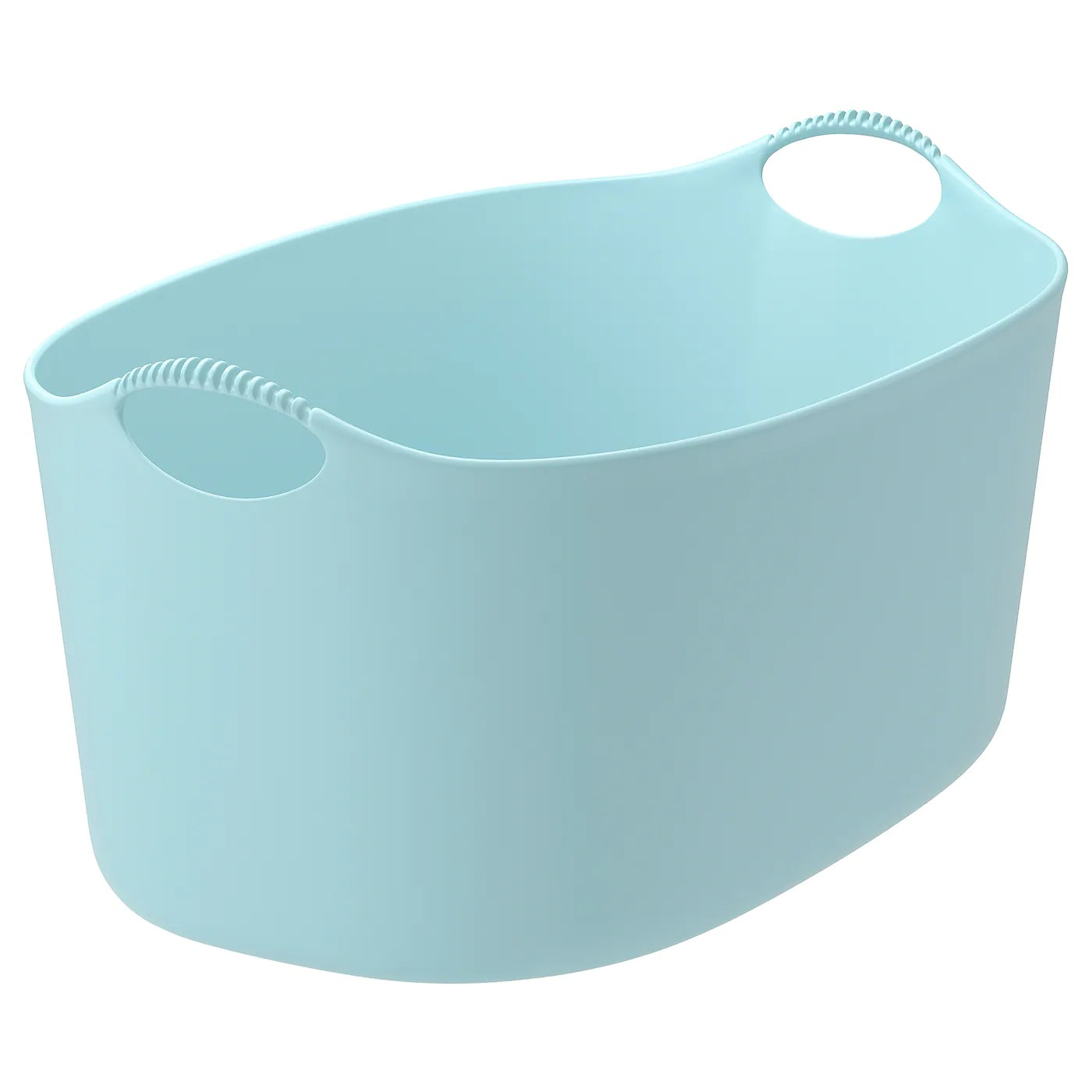 Torkis Panier A Linge Souple Int Ext Bleu Ikea