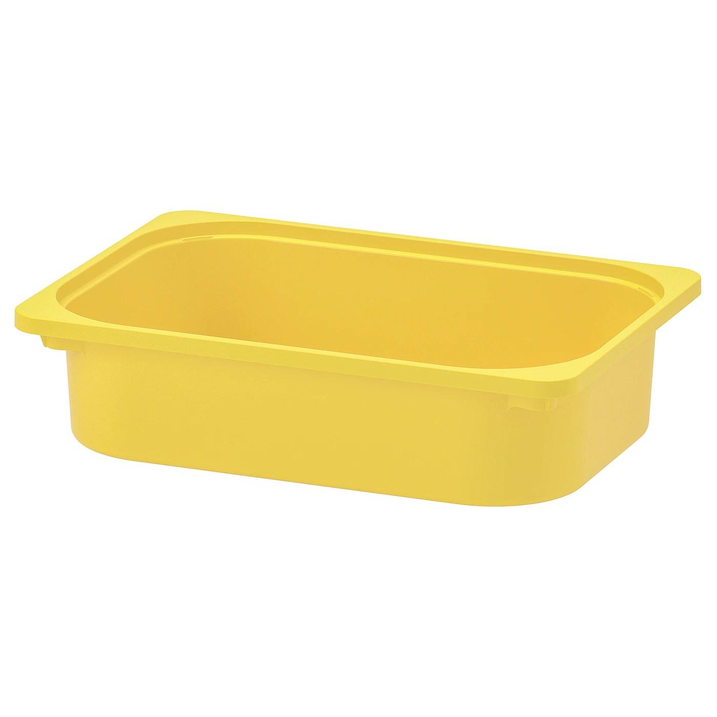 Trofast Bac Jaune 42x30x10 Cm Ikea