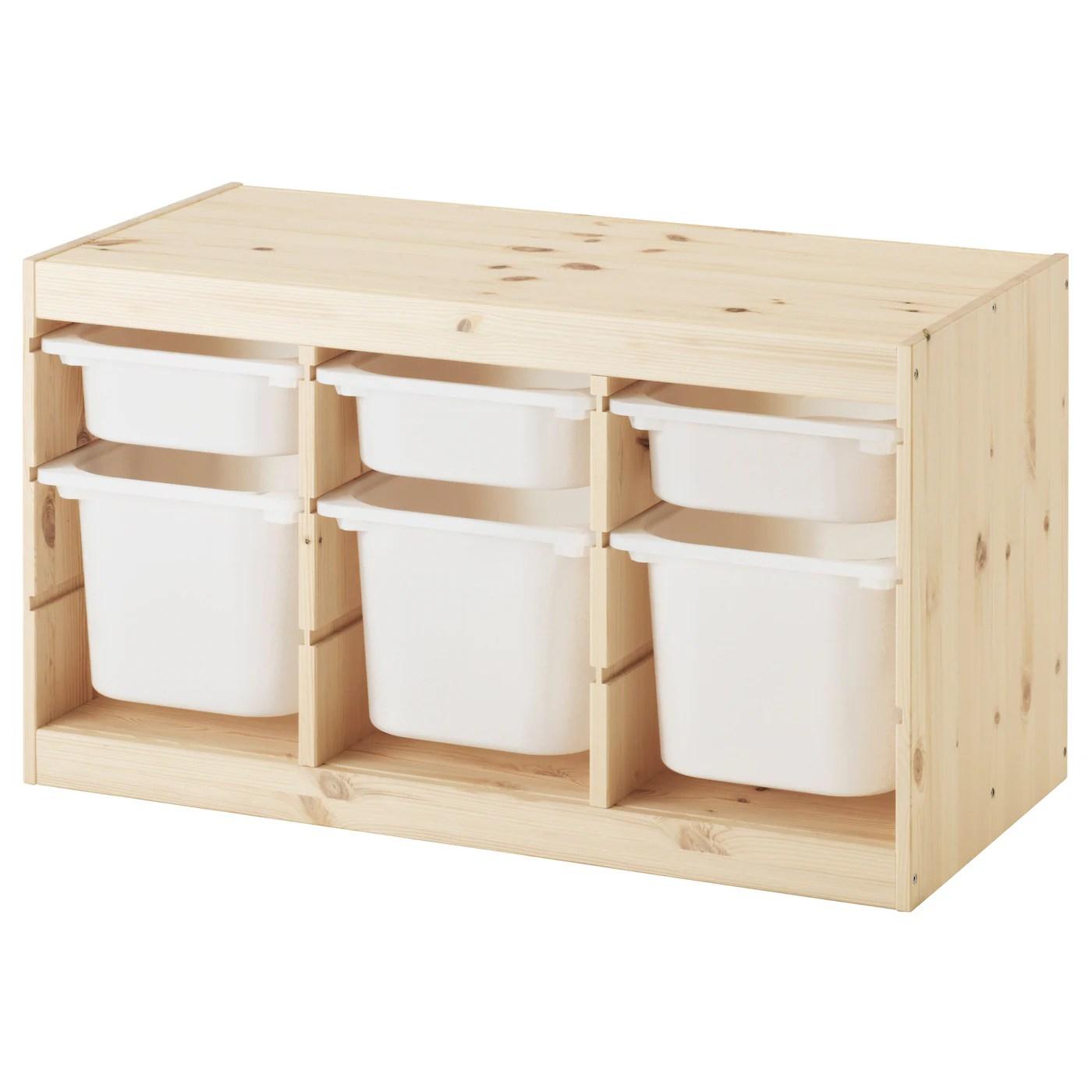 meuble et bac de rangement pour enfant