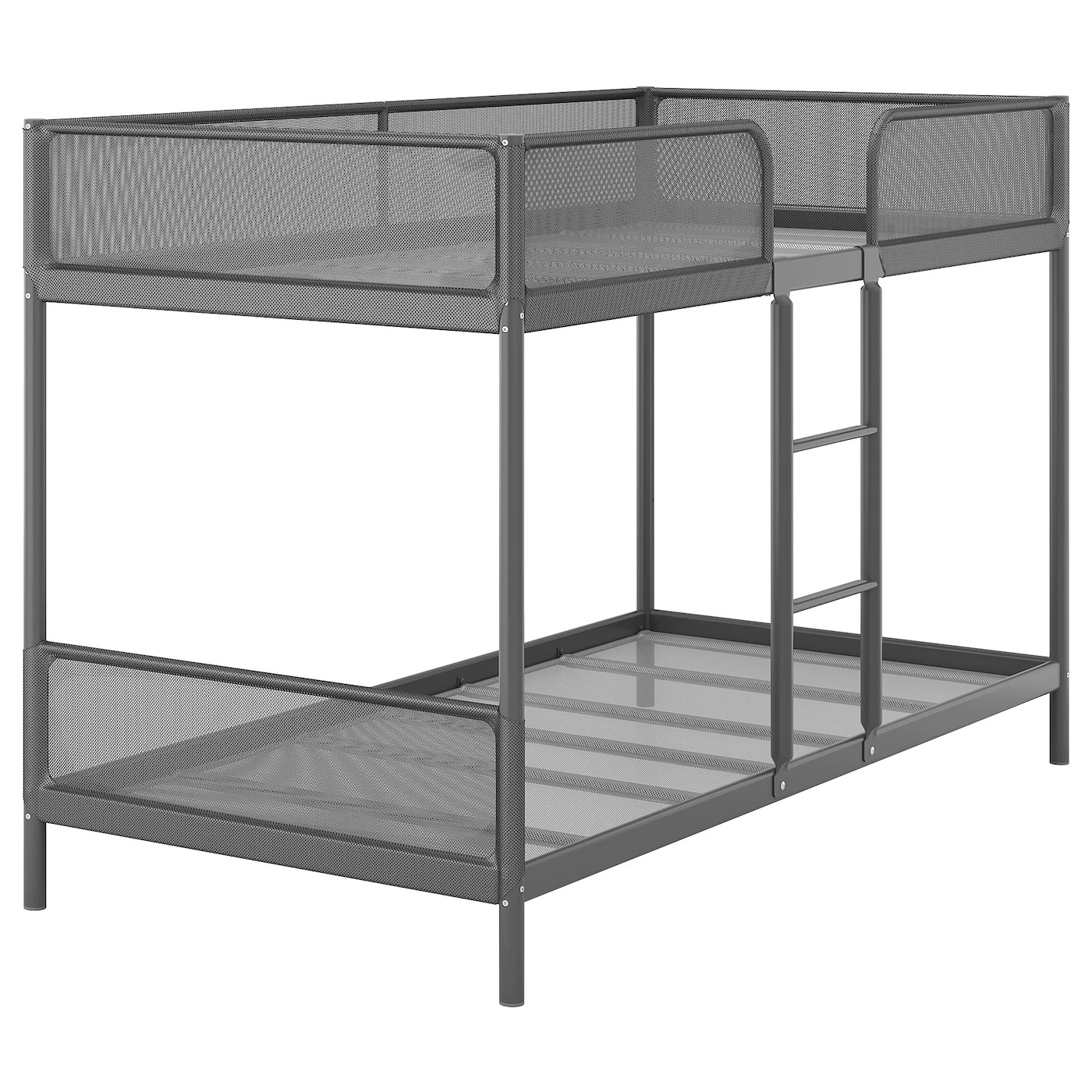Tuffing Structure Lits Superposes Gris Fonce 90x200 Cm Ikea