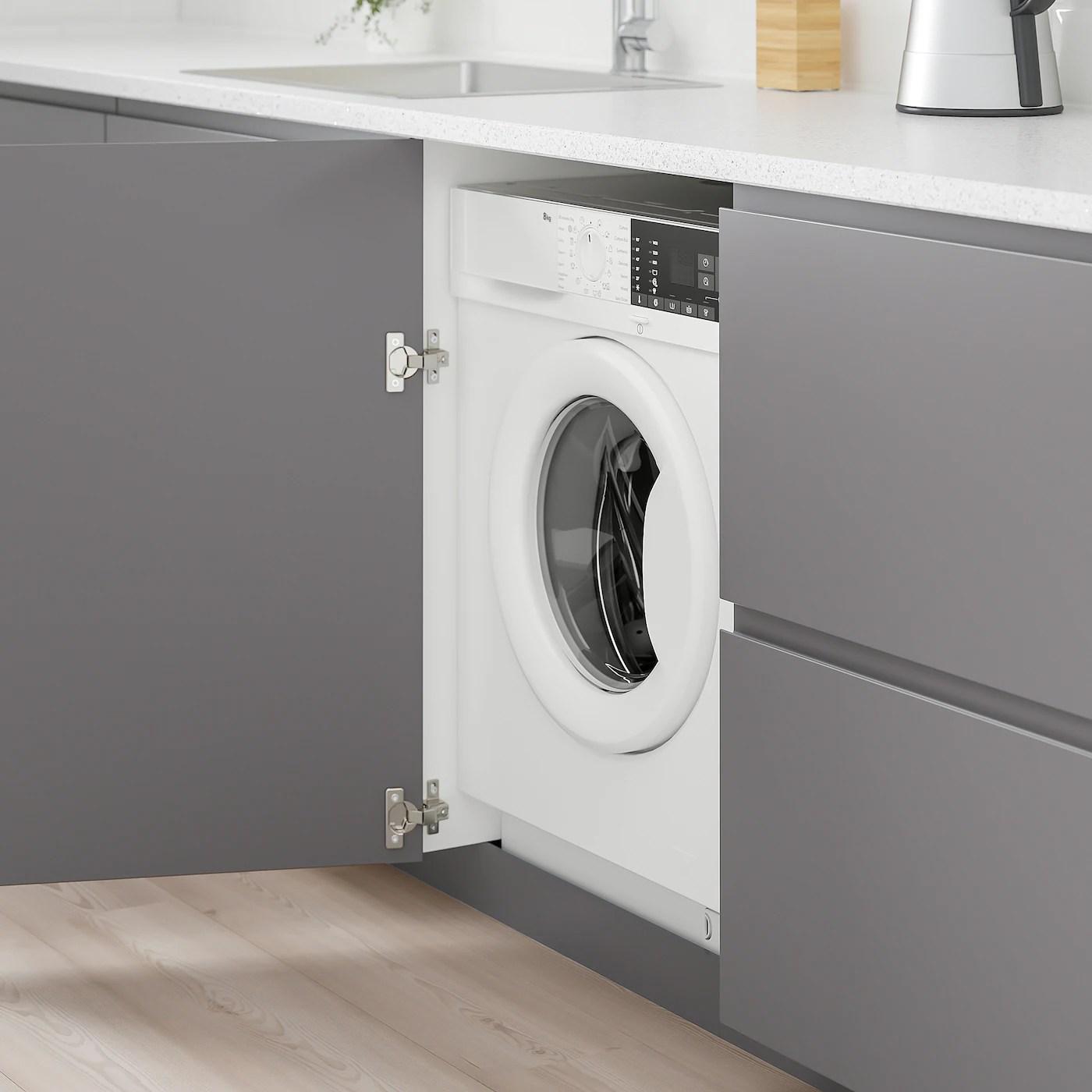 Tvattad Lave Linge Integre Blanc Ikea