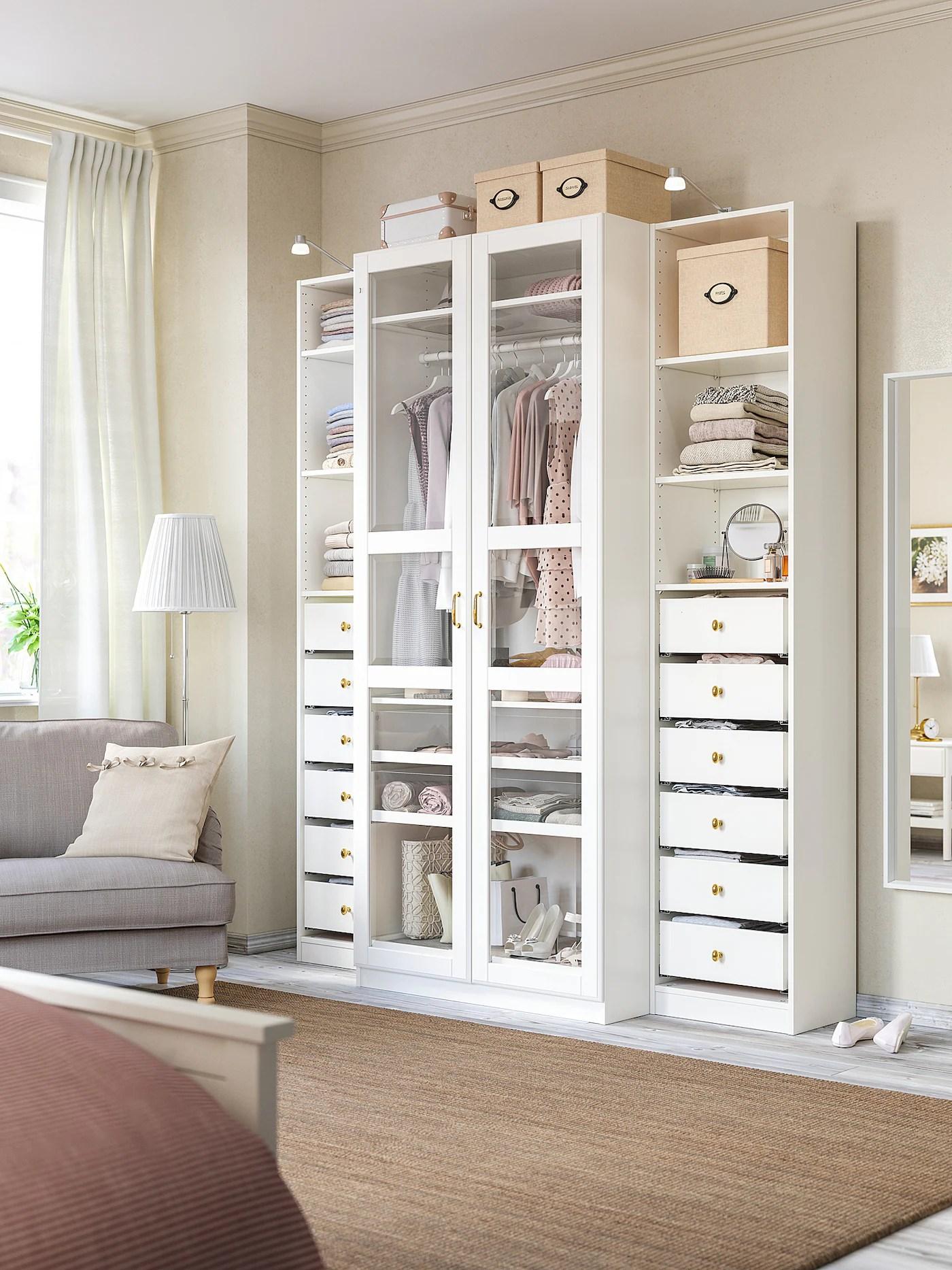 Tyssedal Porte Blanc Verre 50x229 Cm Ikea