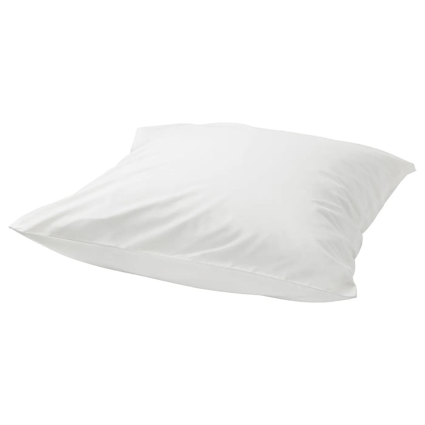 Ullvide Taie D Oreiller Blanc 65x65 Cm Ikea