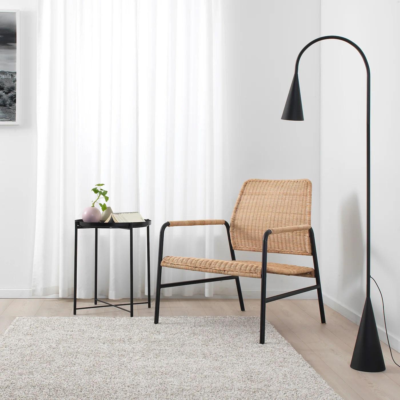 ulriksberg fauteuil rotin anthracite
