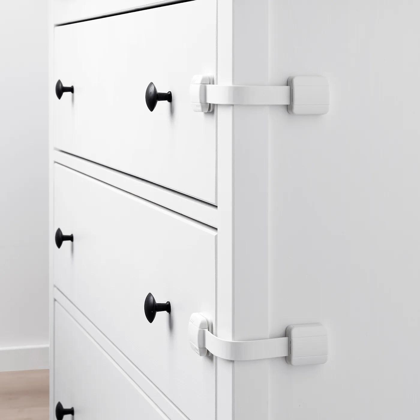 Undvika Bloque Porte Tiroir Blanc Ikea