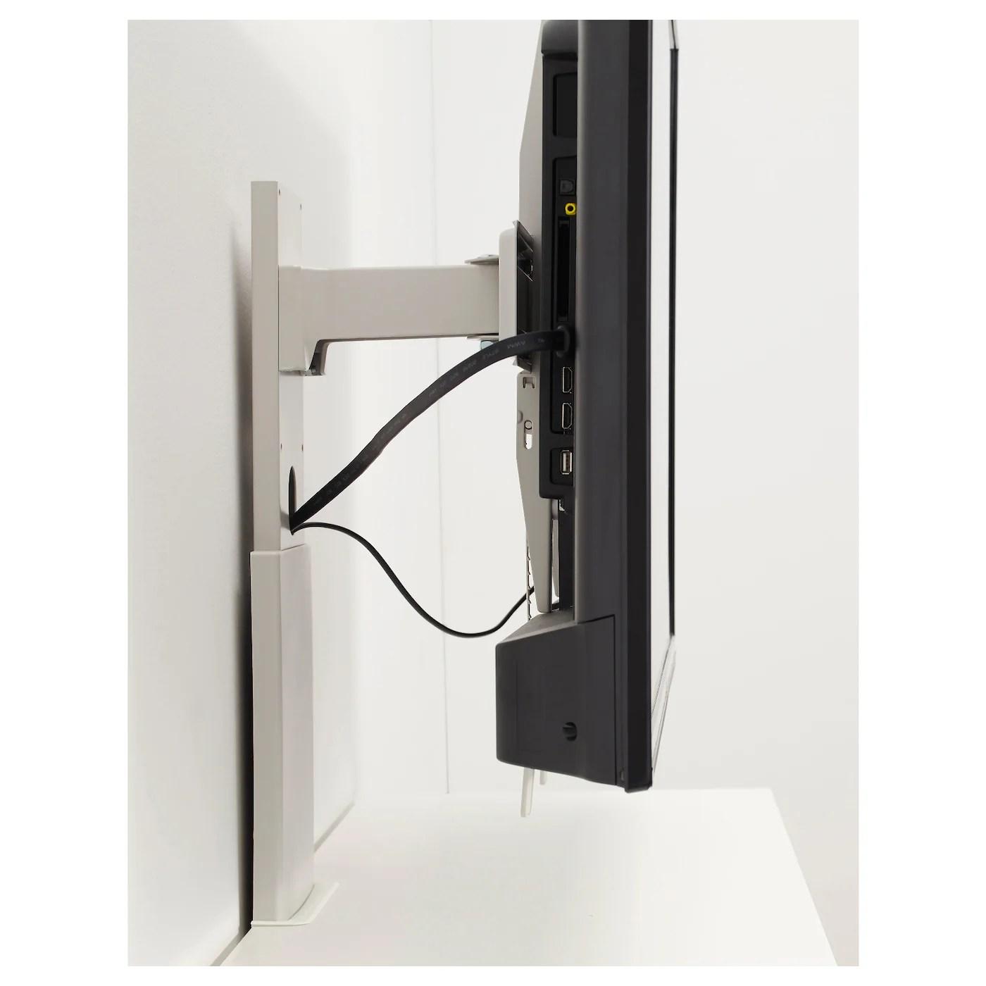 Uppleva Support Pour Tv Pivotant Gris Clair 37 55 Ikea