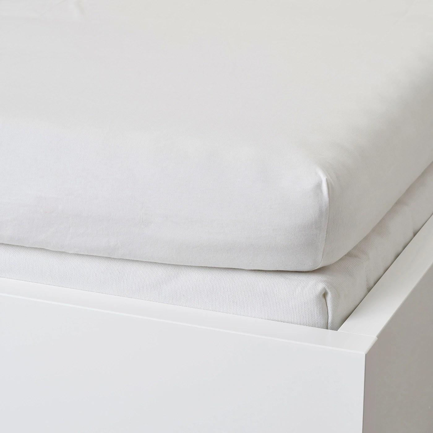 Varvial Drap Housse Pour Divan Blanc 80x200 Cm Ikea