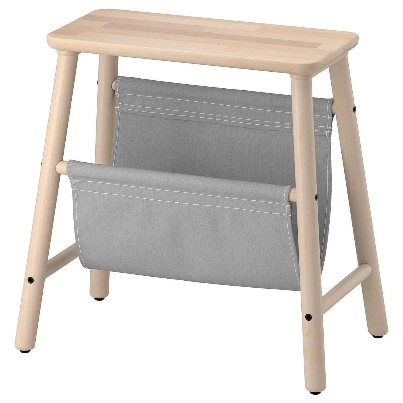Vilto Tabouret Avec Rangement Bouleau 45 Cm Ikea