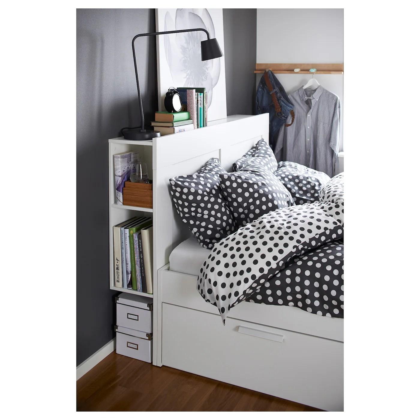 Oak Platform Bed Storage
