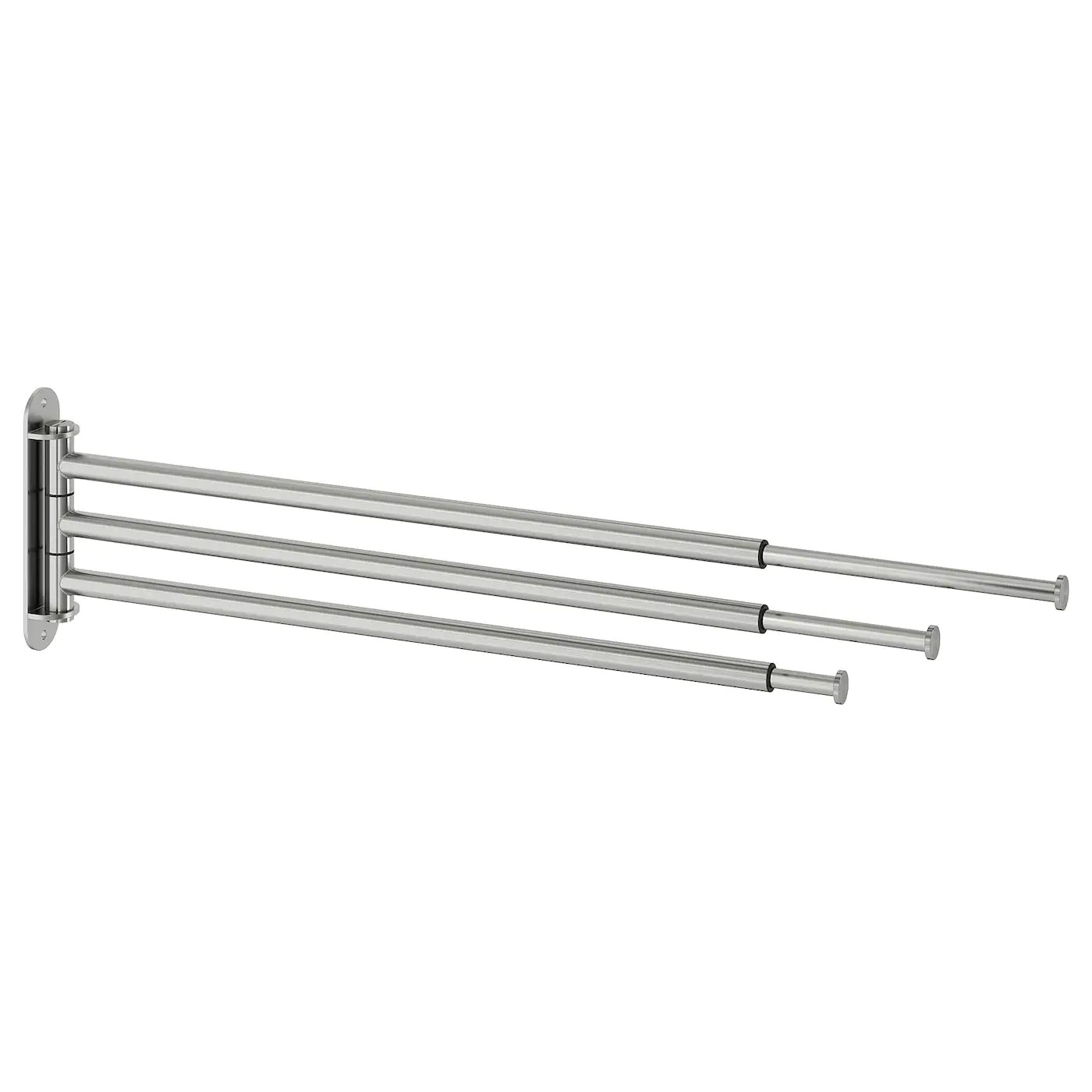 brogrund towel holder 3 bars stainless steel