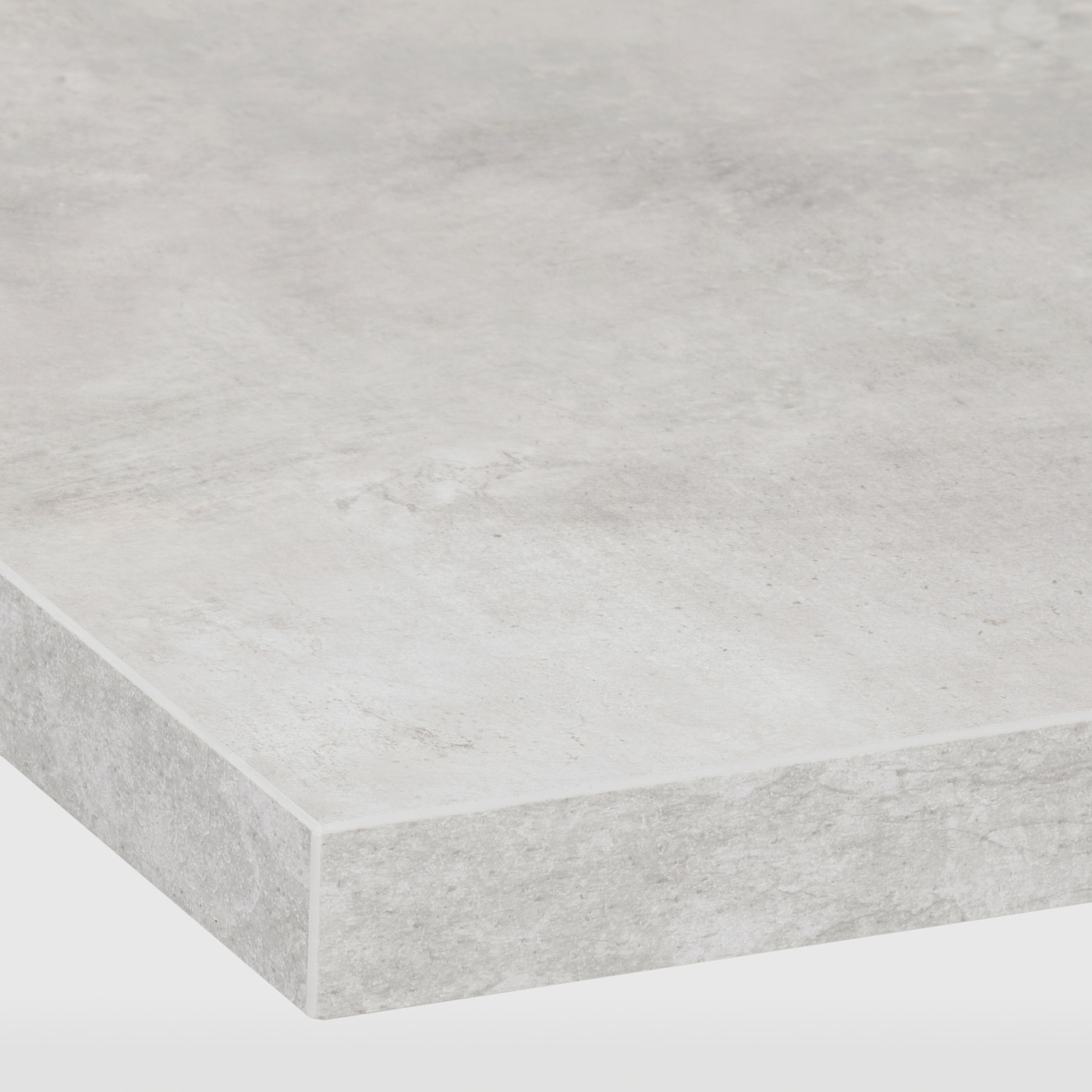 Ekbacken Light Grey Concrete Effect Laminate Worktop 186x2 8 Cm Ikea