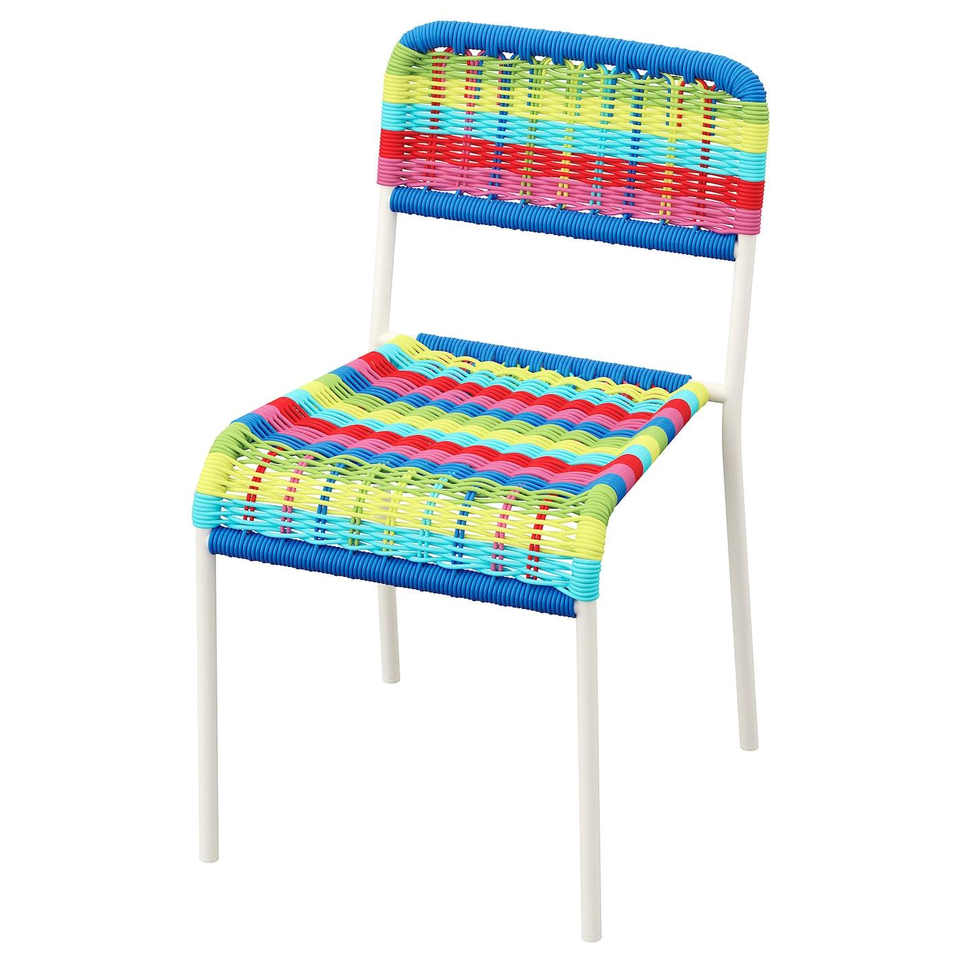 fargglad children s chair in outdoor multicolour