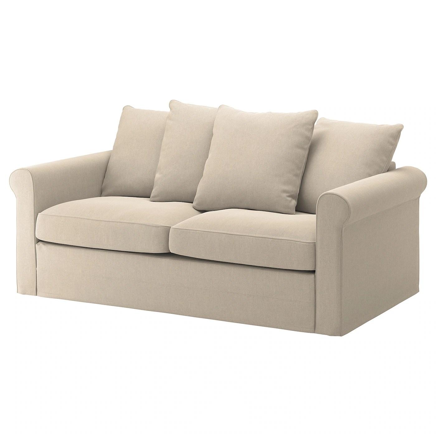 Gronlid 2 Seat Sofa Bed Sporda Natural Ikea