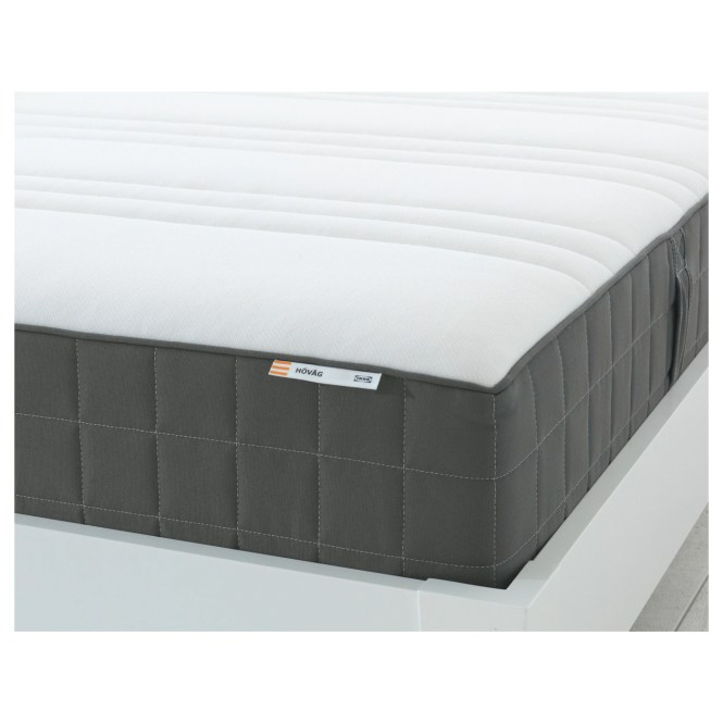 Ikea HÖvÅg Pocket Sprung Mattress A Generous Layer Of Soft Fillings Adds Support And Comfort