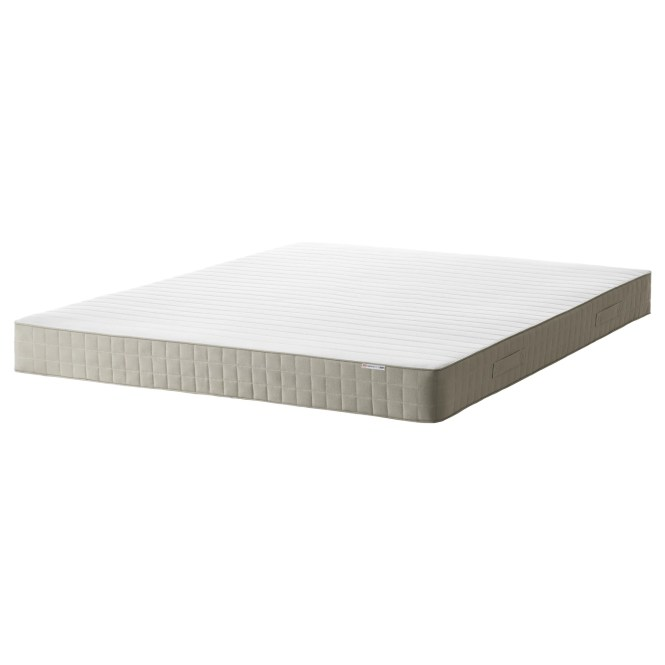 Ikea Hafslo Sprung Mattress Designed To Be Used On One Side Only No Need