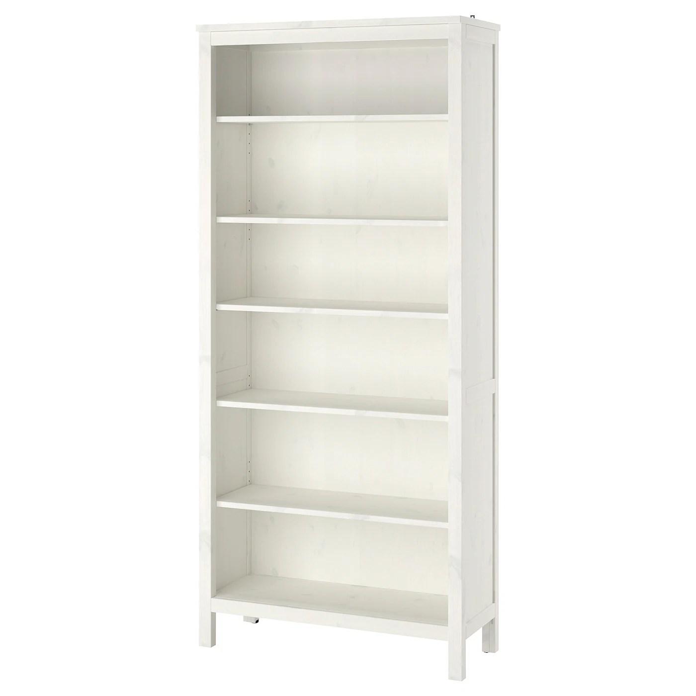 Bookcase Hemnes White Stain