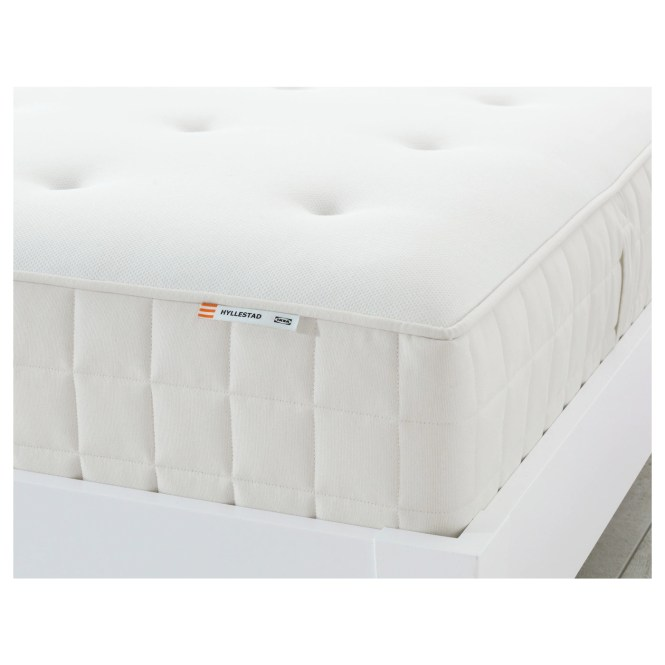 Ikea Hyllestad Pocket Sprung Mattress A Generous Layer Of Soft Fillings Adds Support And Comfort