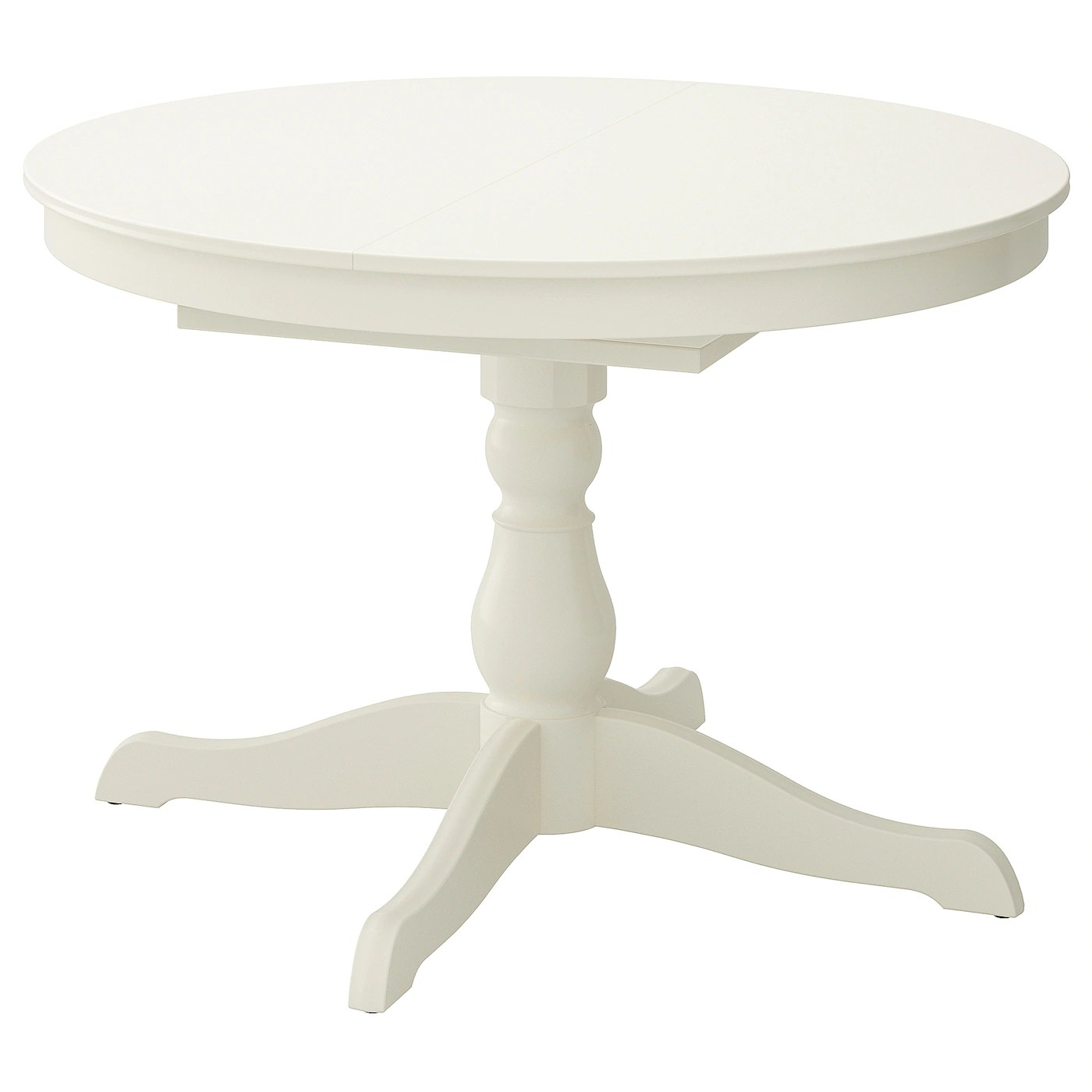 ingatorp extendable table white 110 155 cm
