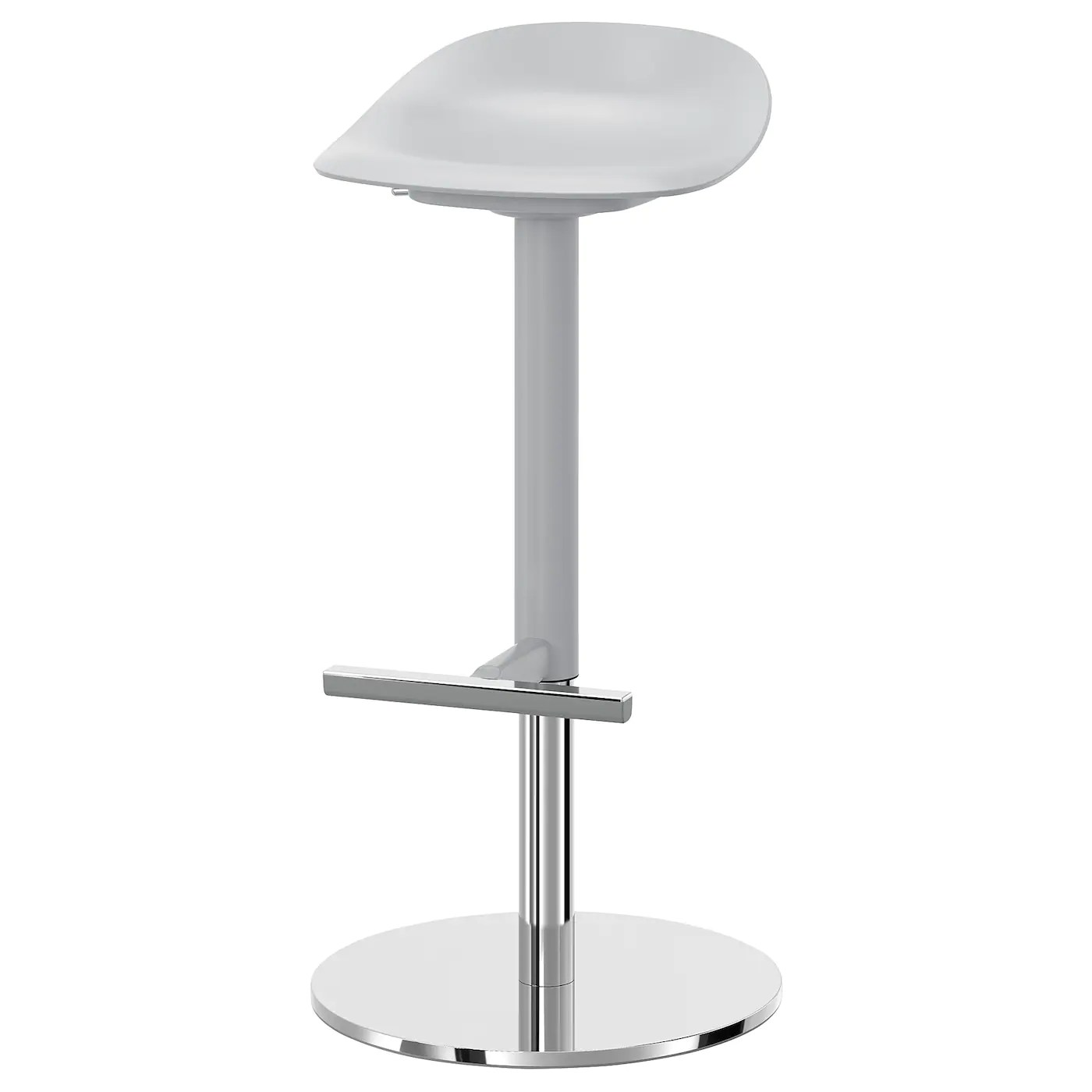Janinge Grey Bar Stool Ikea