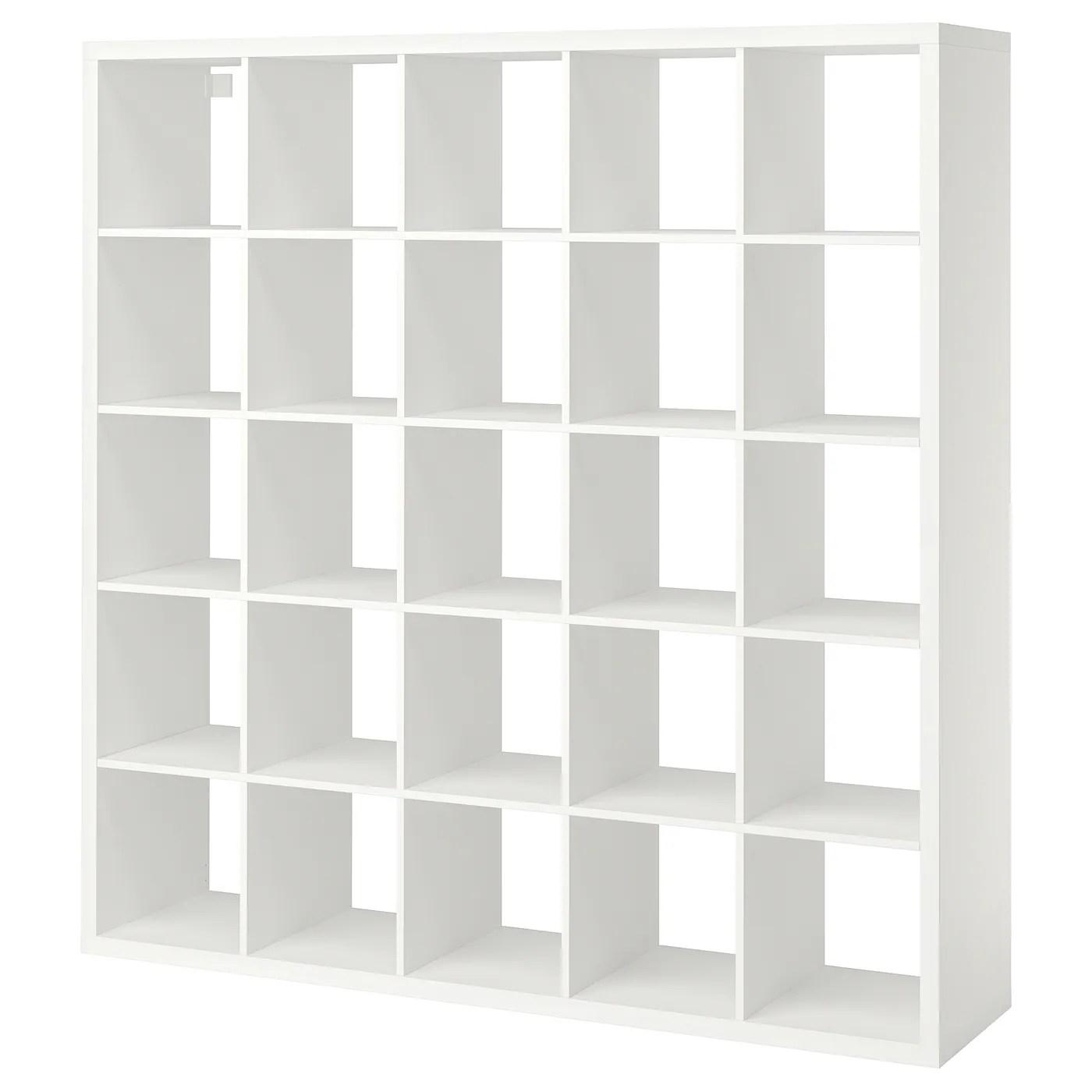 Kallax White Shelving Unit 182x182 Cm Ikea