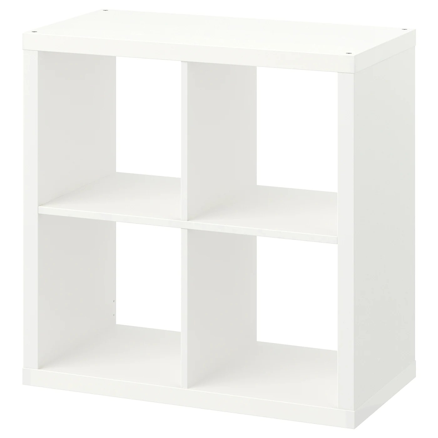 Kallax White Shelving Unit 77x77 Cm Ikea