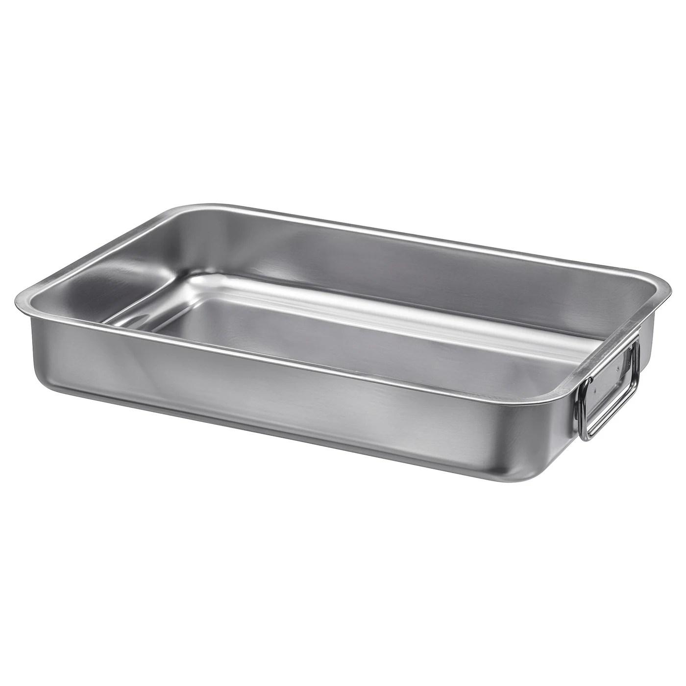 koncis roasting tin stainless steel 34x24 cm