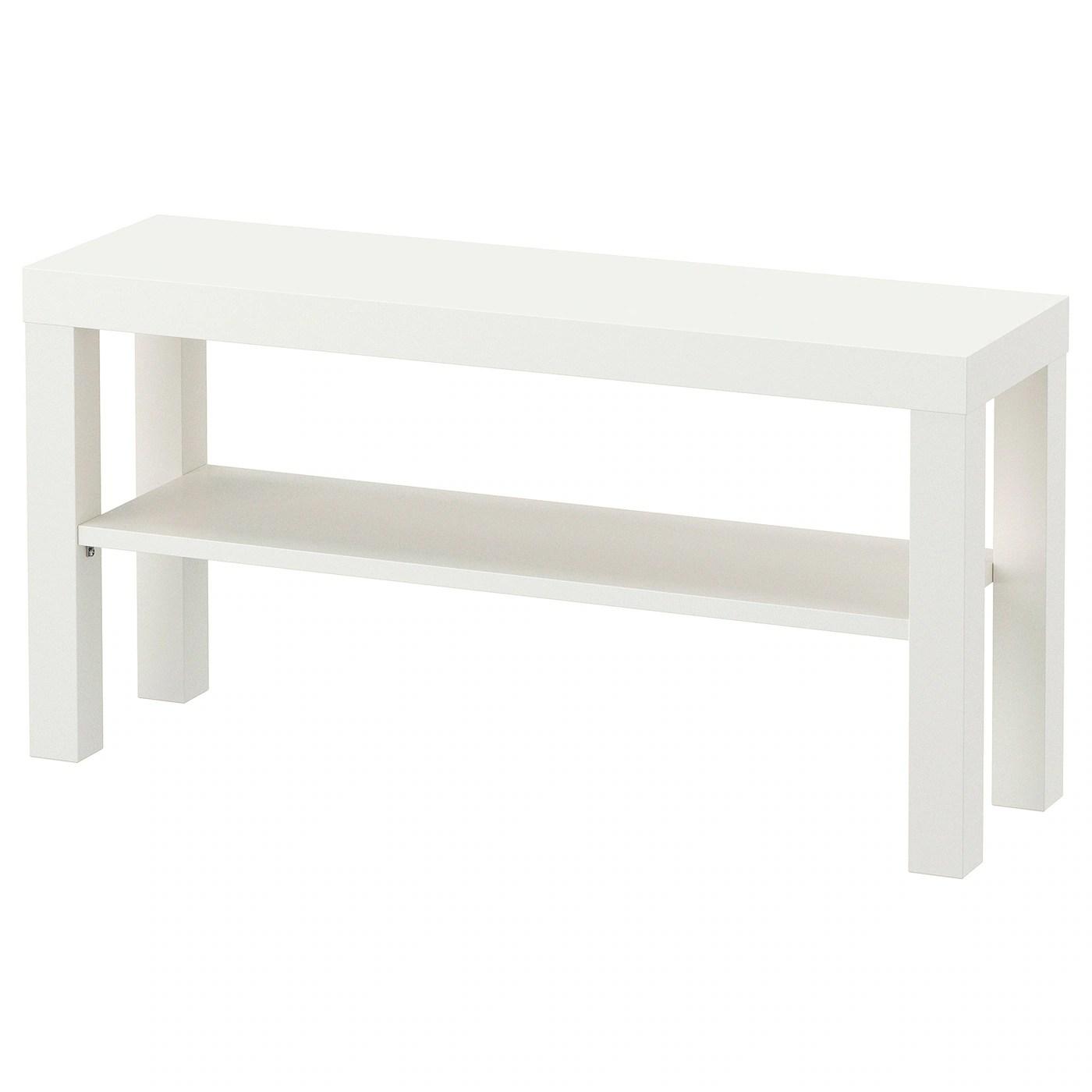 Lack White Tv Bench 90x26x45 Cm Ikea