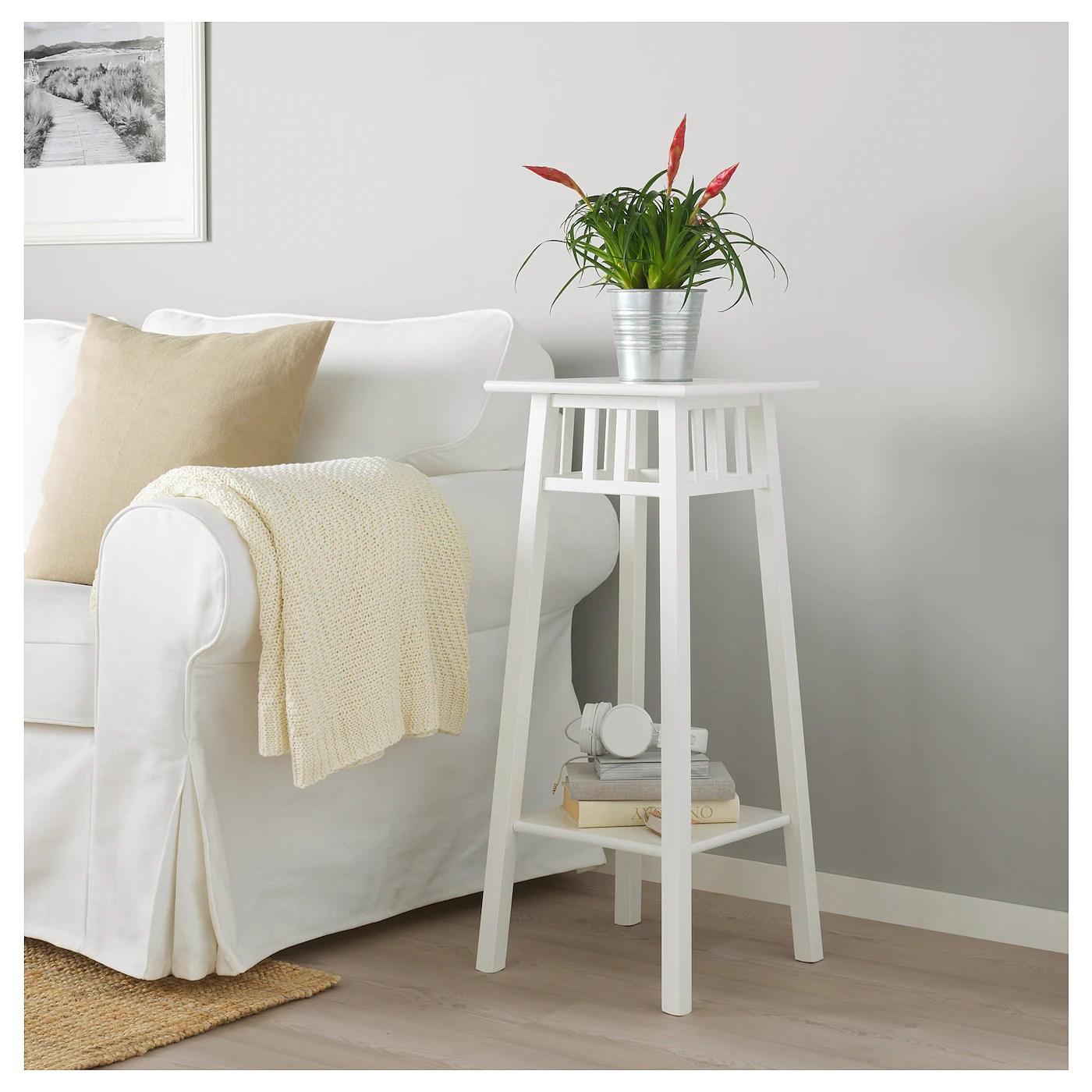 Lantliv White Plant Stand Length 32 Cm Ikea