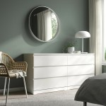 Malm White Chest Of 6 Drawers 160x78 Cm Ikea
