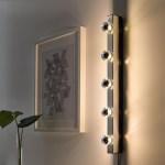 Musik Chrome Plated Wall Lamp Ikea