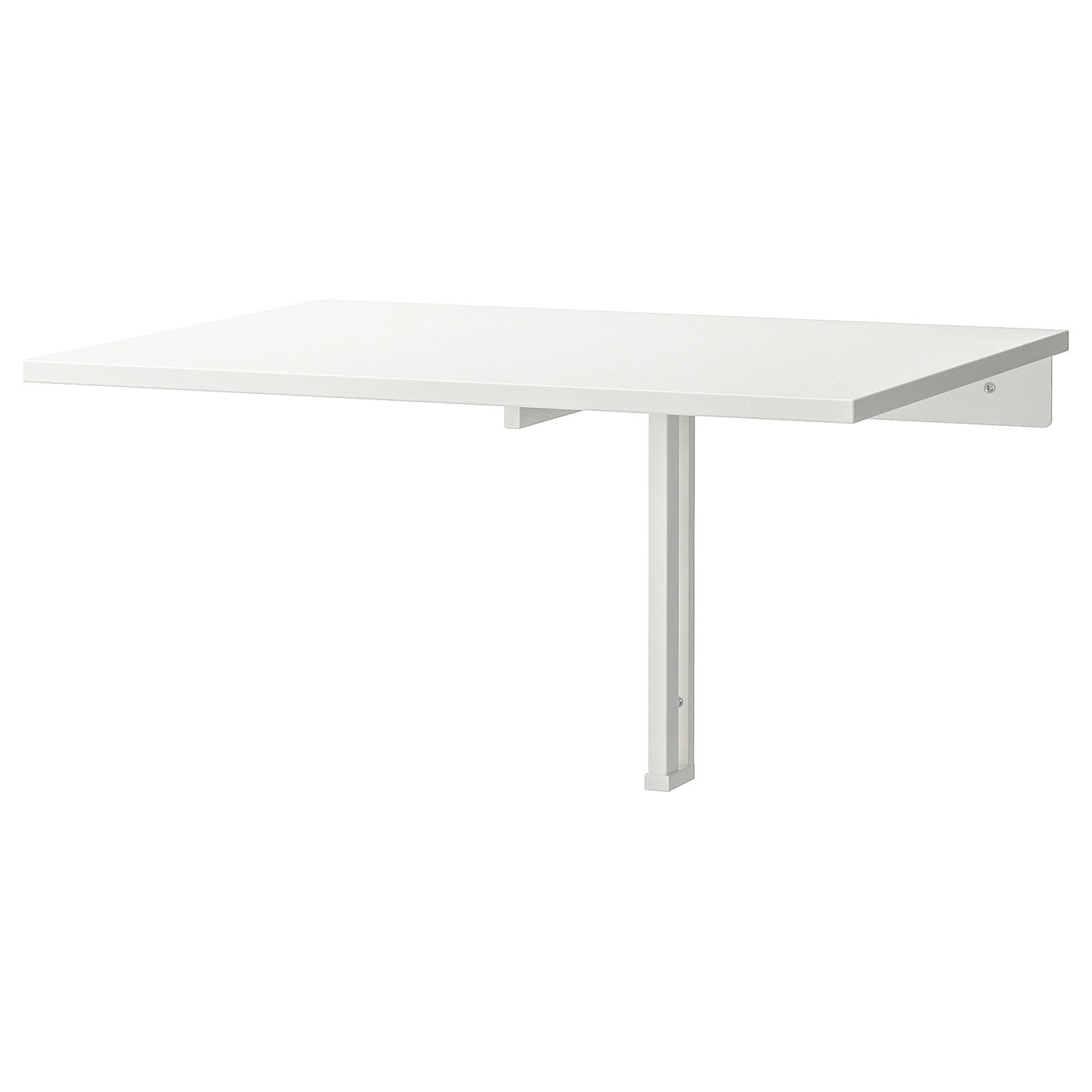 Wall Mounted Drop Leaf Table Norberg White