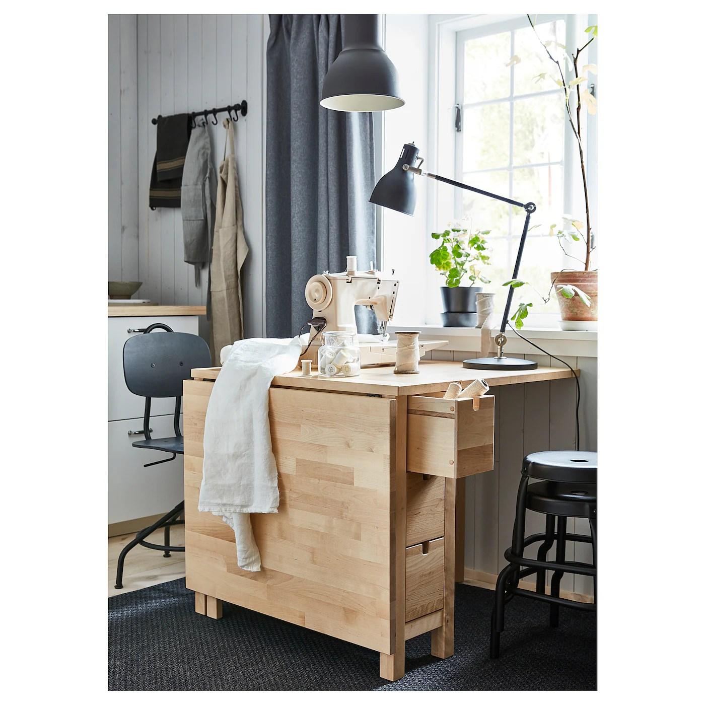 Norden Birch Gateleg Table Ikea