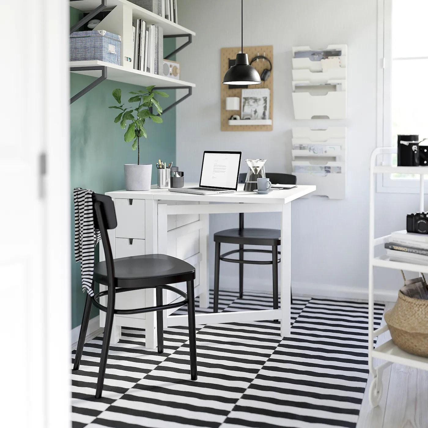 Norden White Gateleg Table Ikea